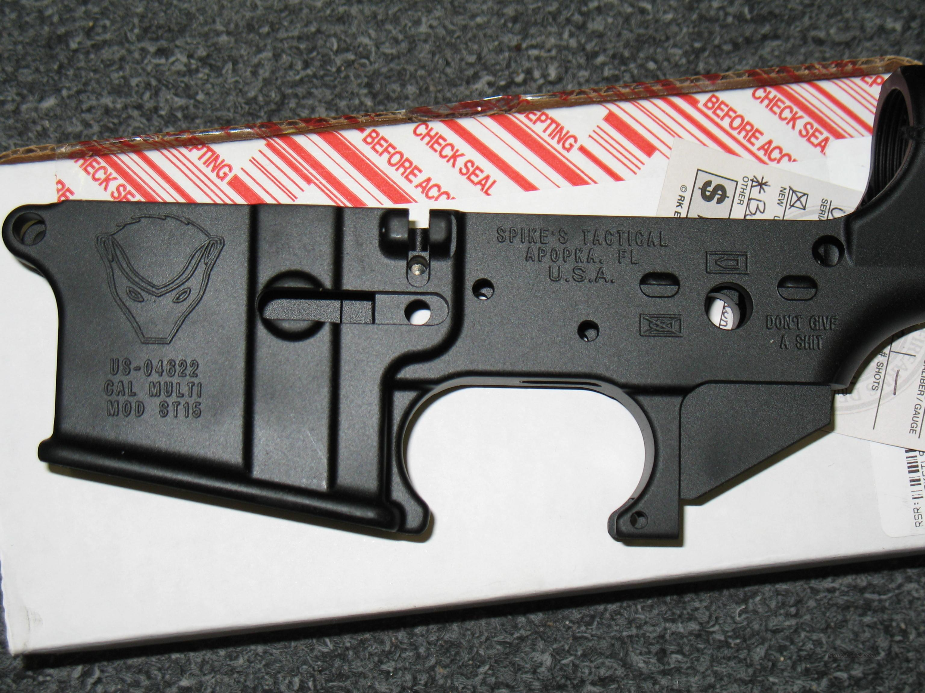 Spike's Tactical ST15 receiver (Honey Badger)  Guns > Rifles > AR-15 Rifles - Small Manufacturers > Lower Only