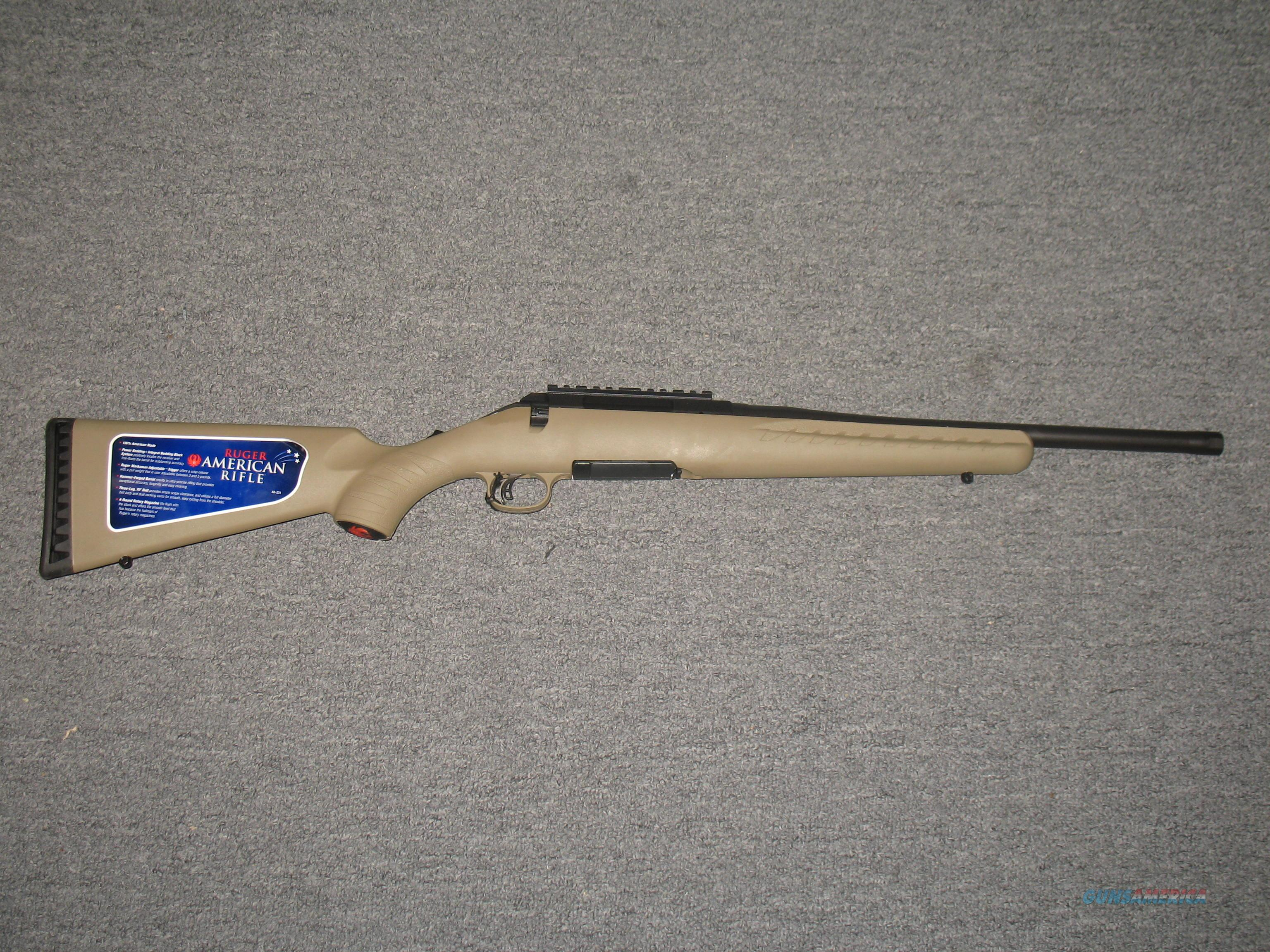 Ruger American .300 Blackout (06968)  Guns > Rifles > Ruger Rifles > American