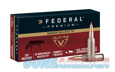 Federal .224 Valkyrie Ammo  Non-Guns > Ammunition
