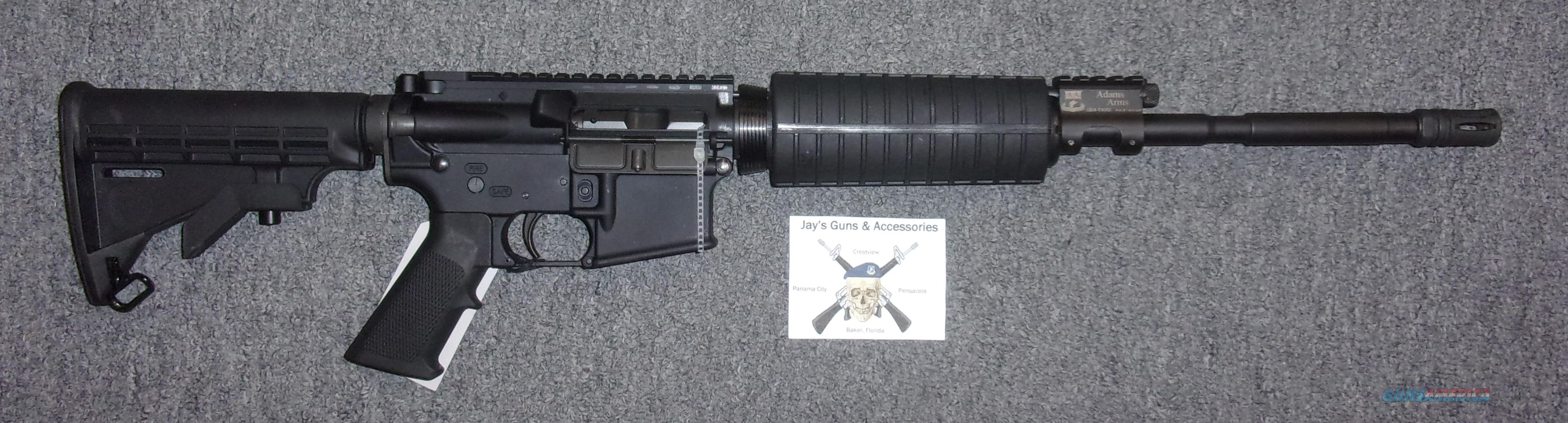 Adams Arms AA-15 (Gas Piston)  Guns > Rifles > AR-15 Rifles - Small Manufacturers > Complete Rifle