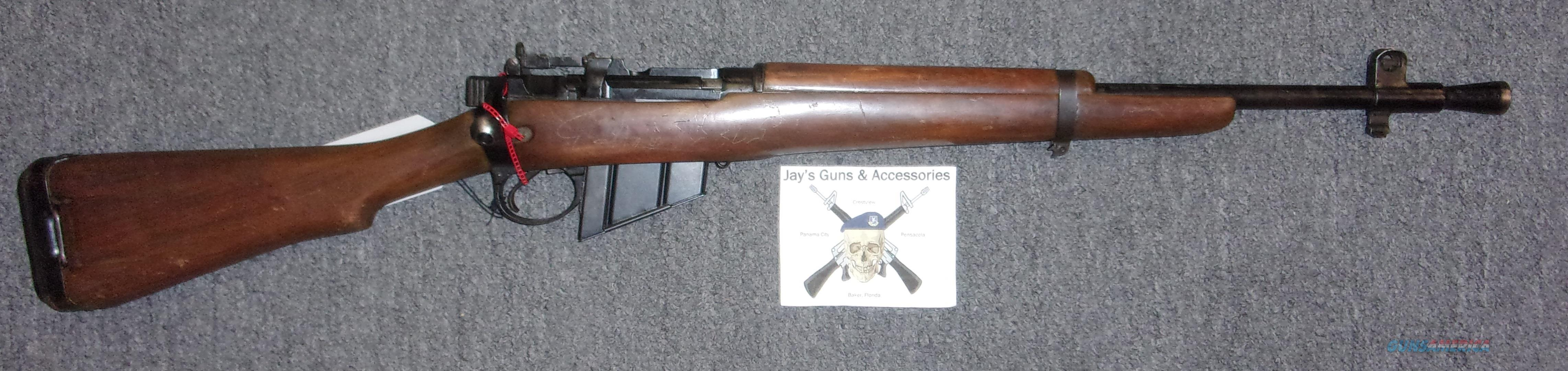 Enfield No. 5 Mk 1 ROF (F) Jungle Carbine  Guns > Rifles > Enfield Rifle