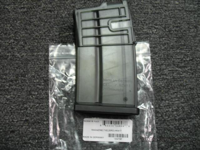 Heckler & Koch 417 20round Magazine  Non-Guns > Magazines & Clips > Rifle Magazines > Other
