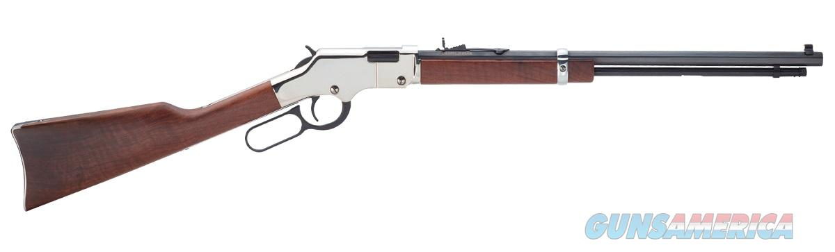 Henry Repeating Arms H004SV Silver Boy in .17HMR  Guns > Rifles > Henry Rifle Company