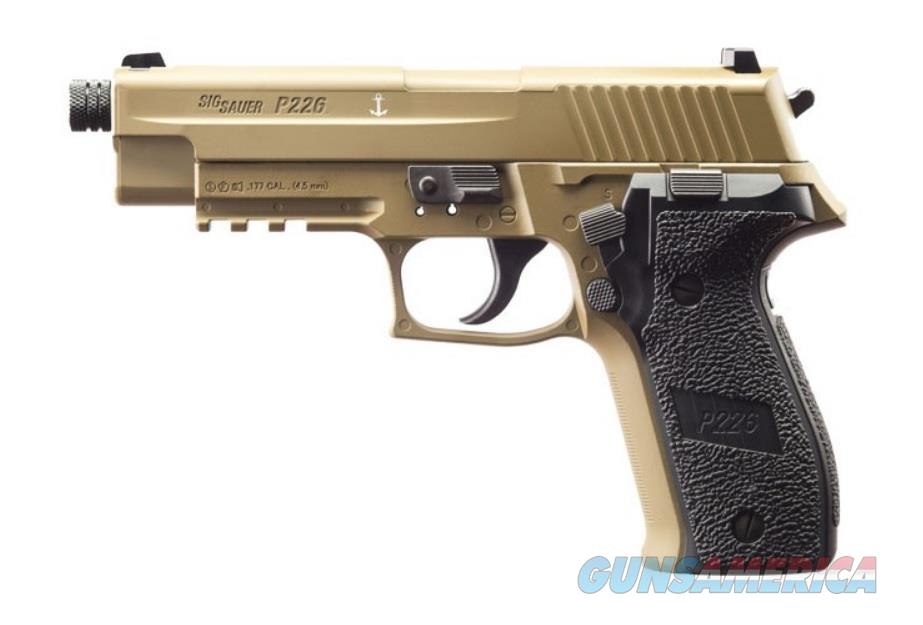 Sig Sauer P226 Advanced Sport Pellet CO2 Pistol (AIR-226F-177-12G-16-FDE)  Non-Guns > Air Rifles - Pistols > Adult High Velocity