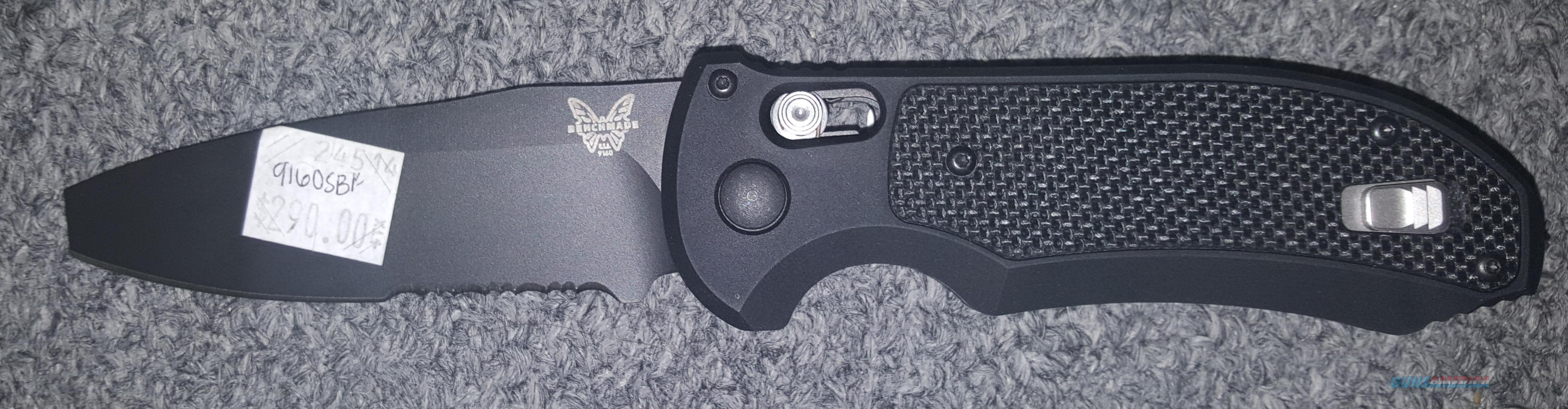 Benchmade 9160SBK Auto Triage  Non-Guns > Knives/Swords > Knives > Folding Blade > Hand Made