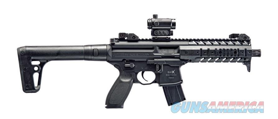 Sig Sauer MPX Air Rifle (AIR-MPX-MRD-177-88G-30-BLK) w/Red Dot  Non-Guns > Air Rifles - Pistols > Adult High Velocity