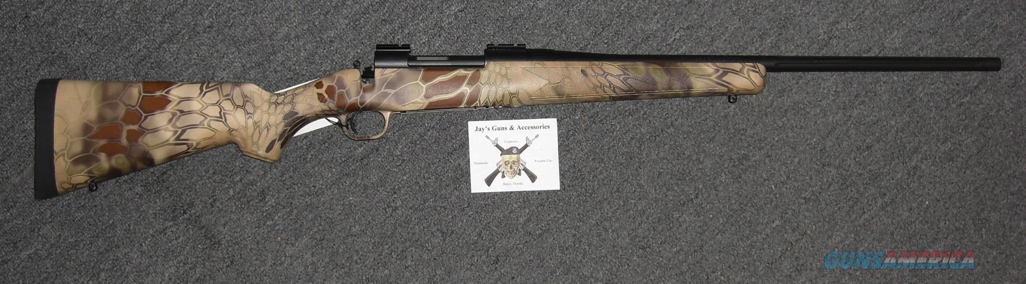 Mossberg Patriot w/Kryptec Finish Stock  Guns > Rifles > Mossberg Rifles > Patriot