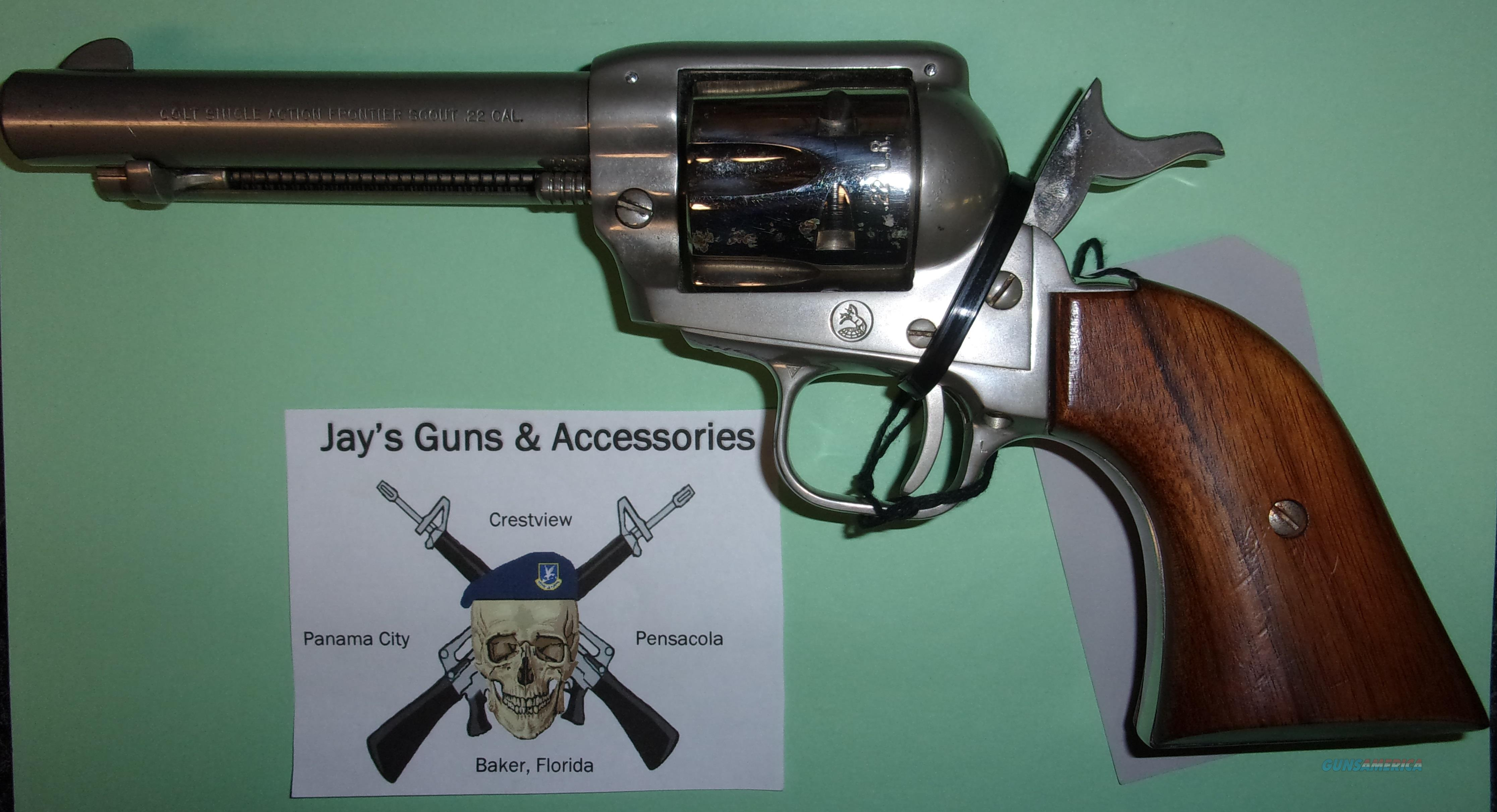 Colt Frontier Scout w/Dual Cylinder  Guns > Pistols > Colt Single Action Revolvers - Modern (22 Cal.)