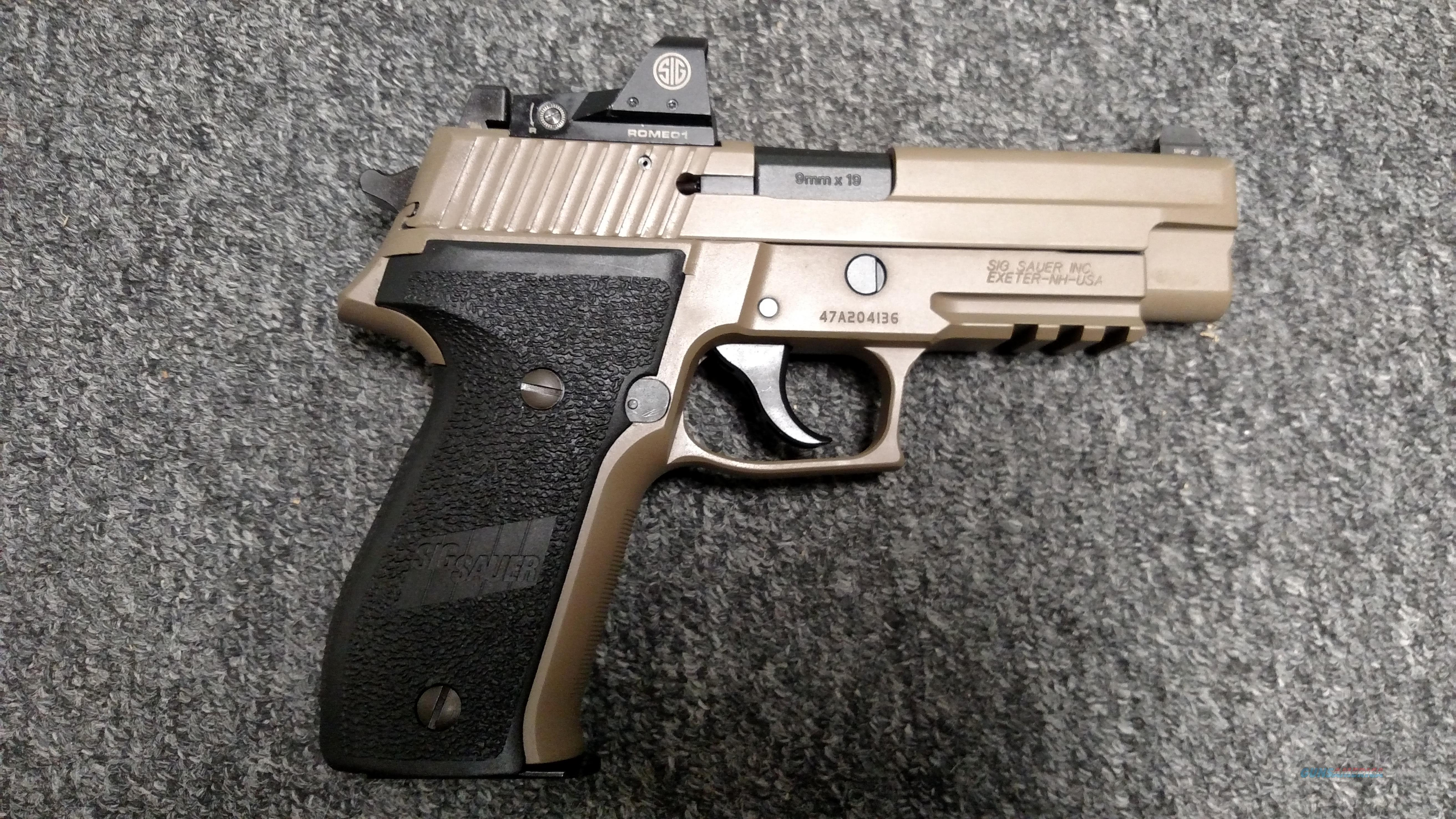 P226 MK25 RX (Flat Dark Earth, Red Dot Optic, Night Sights, 9mm)  Guns > Pistols > Sig - Sauer/Sigarms Pistols > P226