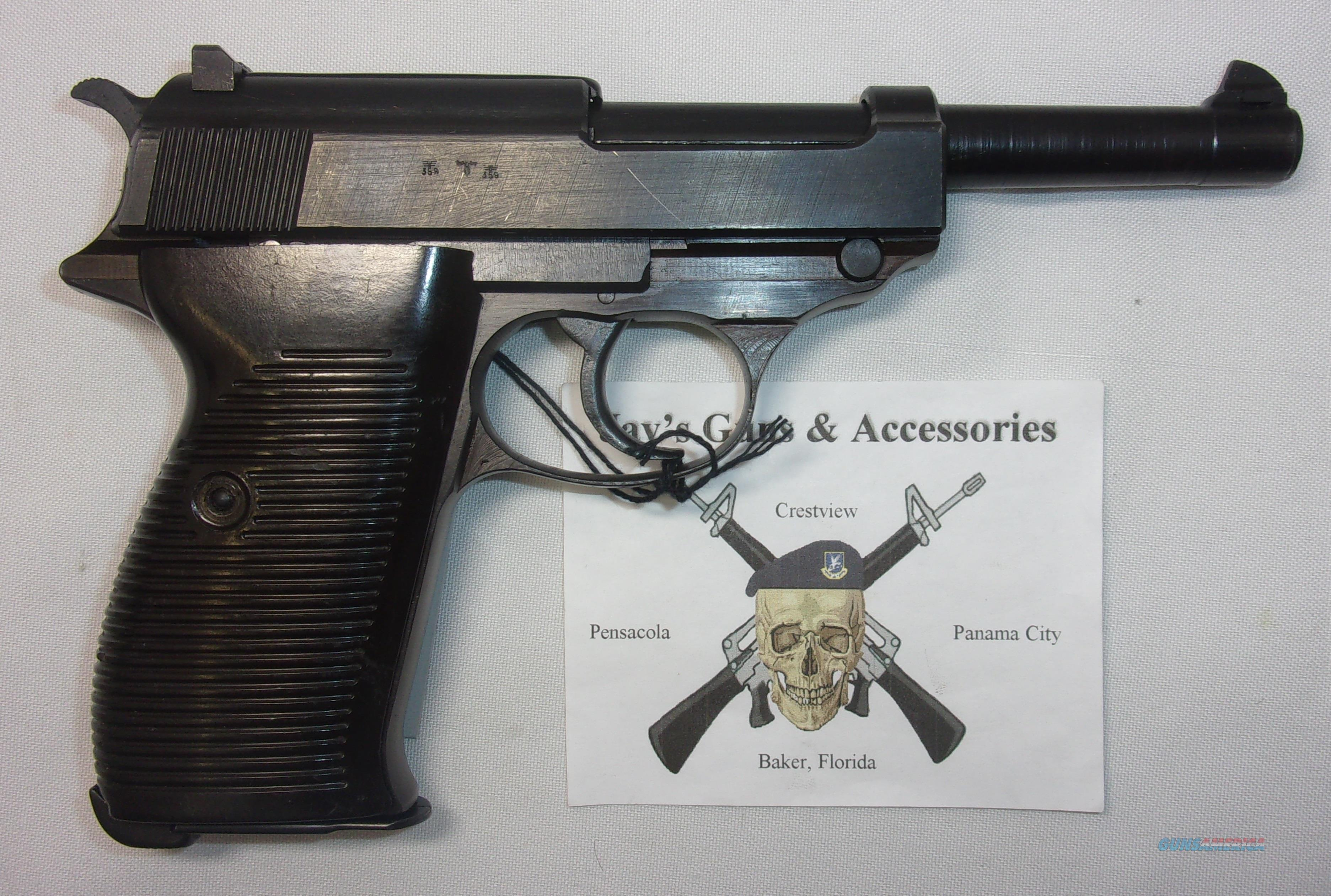 Walther P-38  Guns > Pistols > Walther Pistols > Pre-1945 > P-38