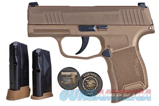 Sig Sauer P365 (365-9-COYXR3-NRA19)  Guns > Pistols > Sig - Sauer/Sigarms Pistols > P365