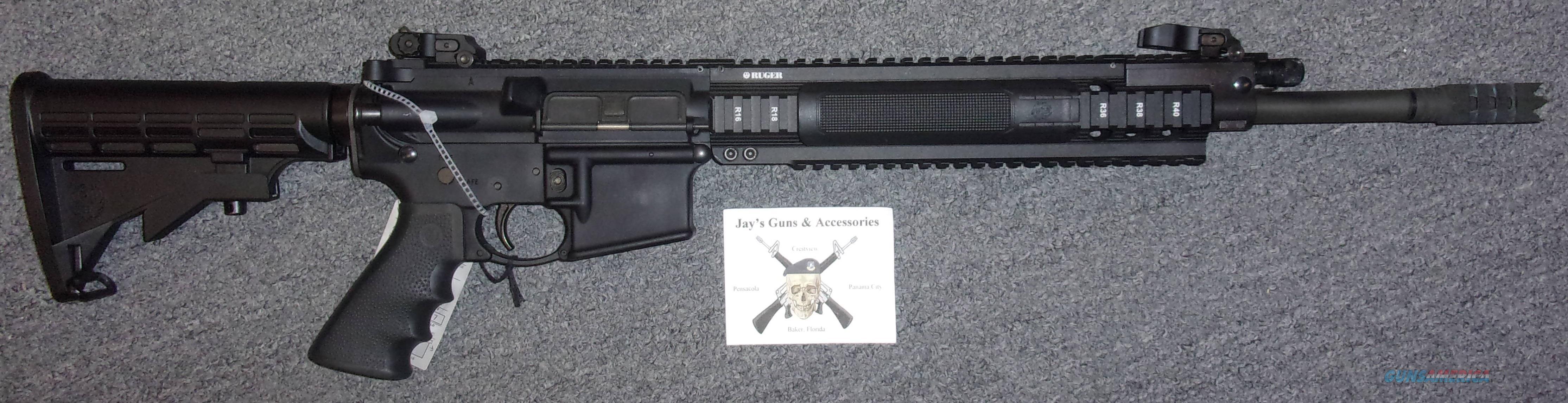 Ruger SR-556 (Gas Piston)  Guns > Rifles > Ruger Rifles > SR Series