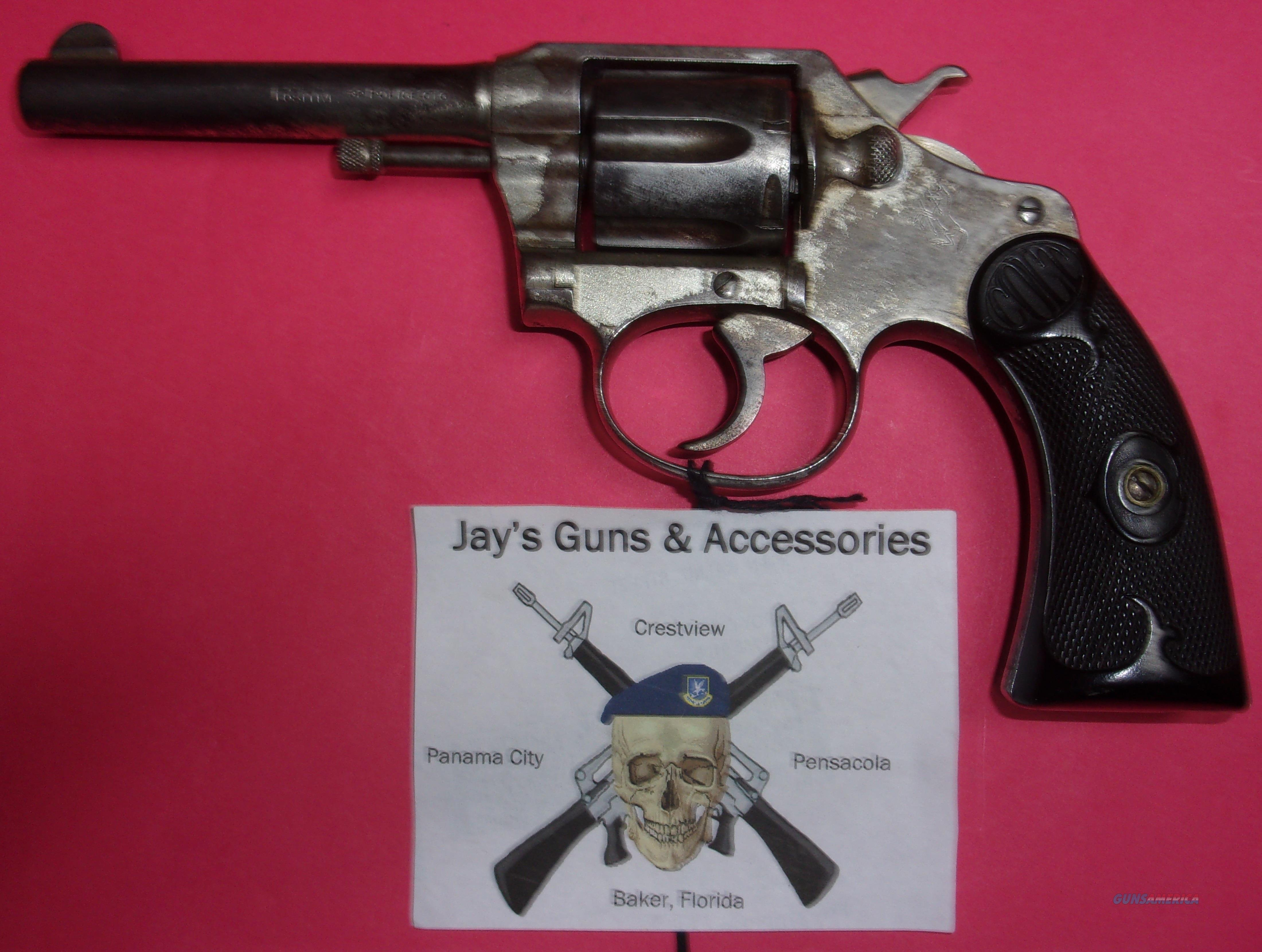 Colt Police Positive First Issue  Guns > Pistols > Colt Double Action Revolvers- Pre-1945