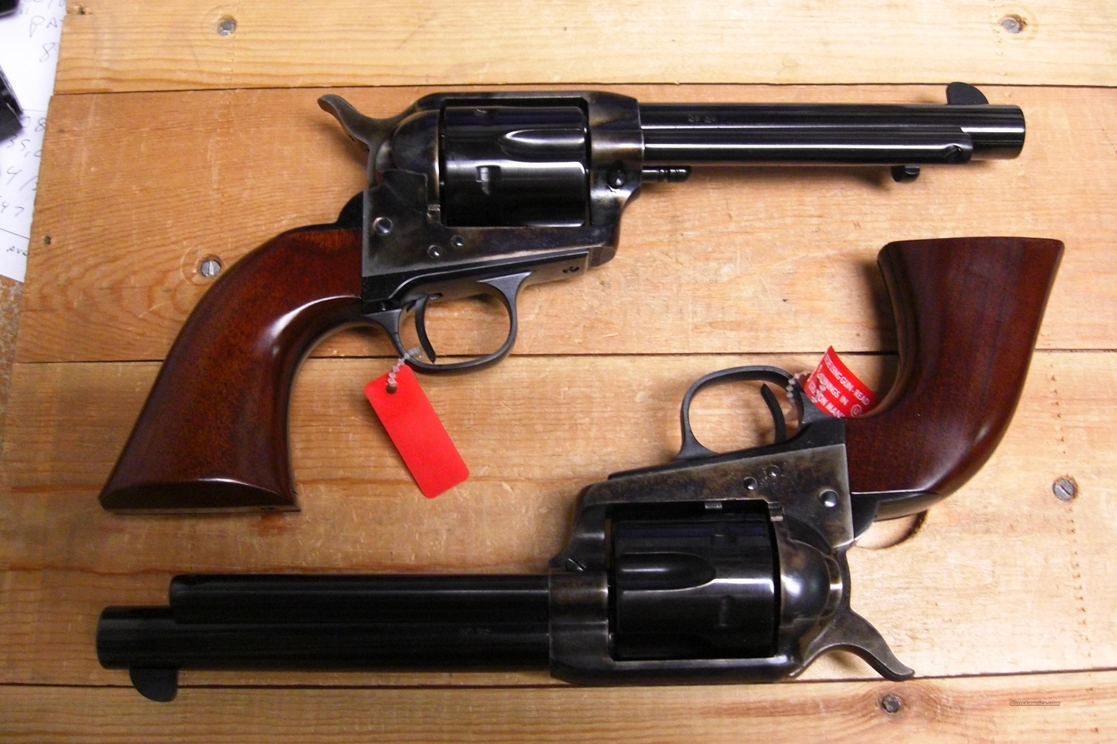 1873 Cattleman NM matched set  Guns > Pistols > Uberti Pistols > Ctg.