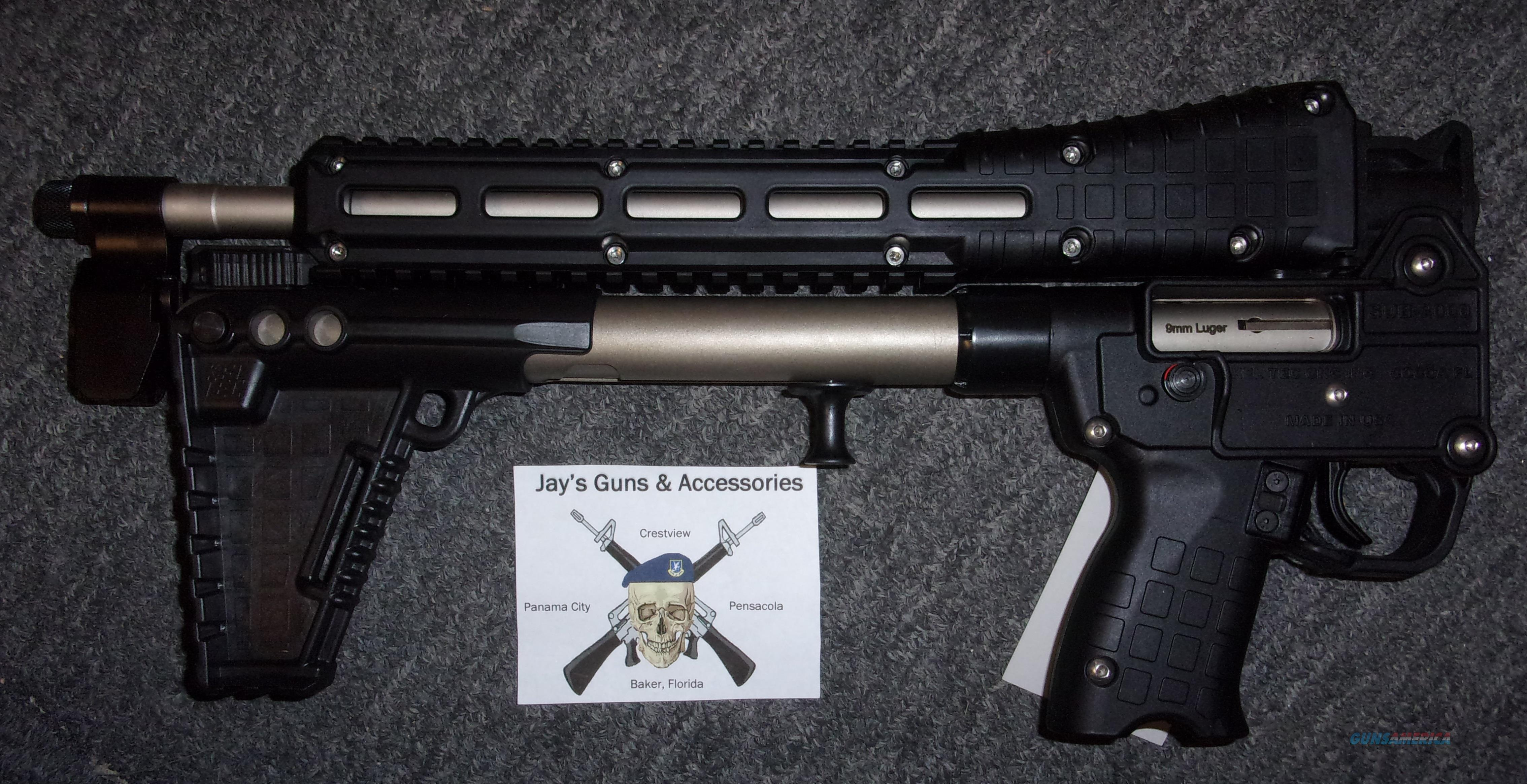Kel-Tec Sub-2000 Gen 2 Uses Beretta 92 Mags w/Nickel Boron Finish  Guns > Rifles > Kel-Tec Rifles