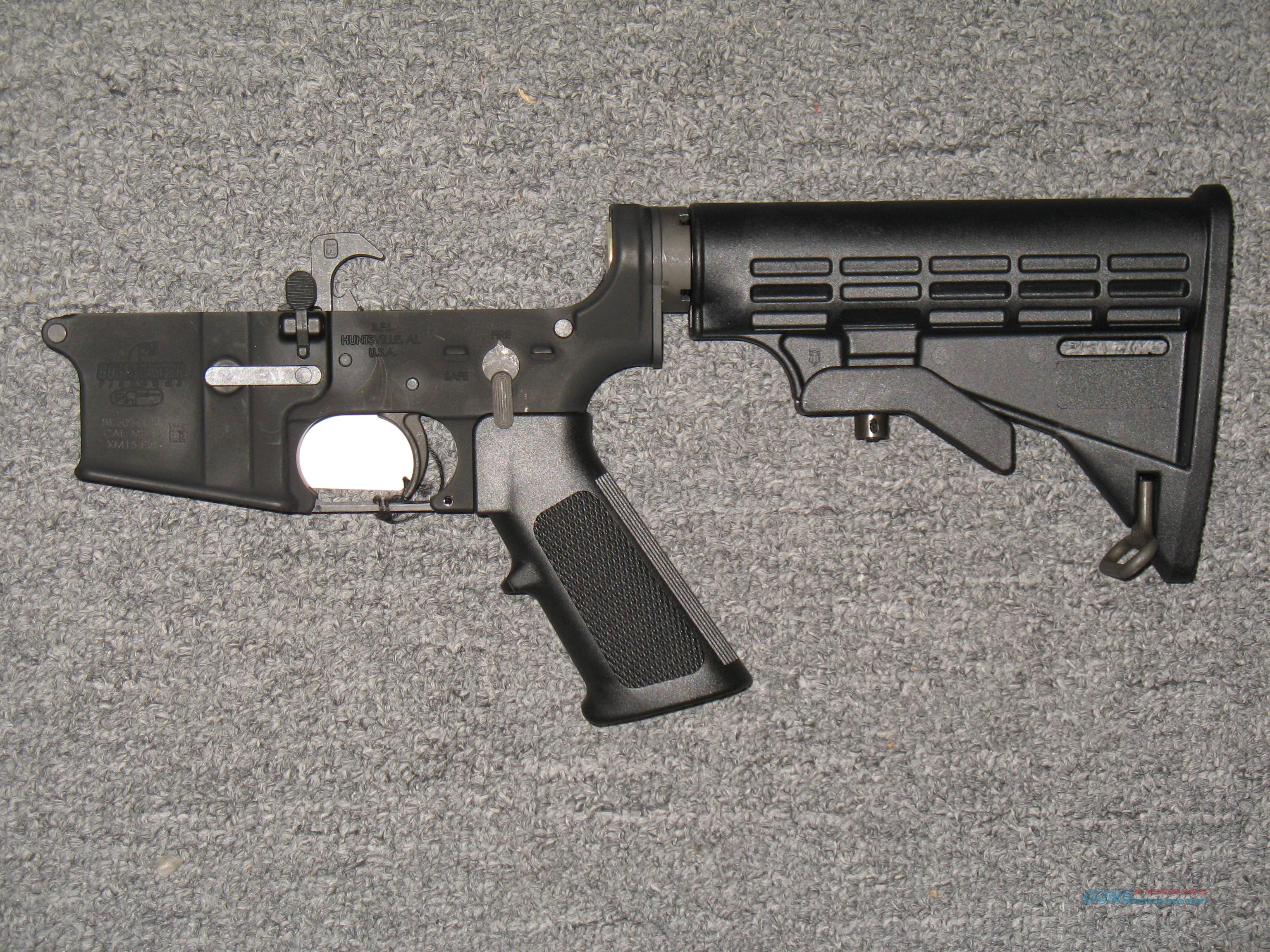 Bushmaster XM15-E2S (Complete Lower)  Guns > Rifles > Bushmaster Rifles > Lower Only