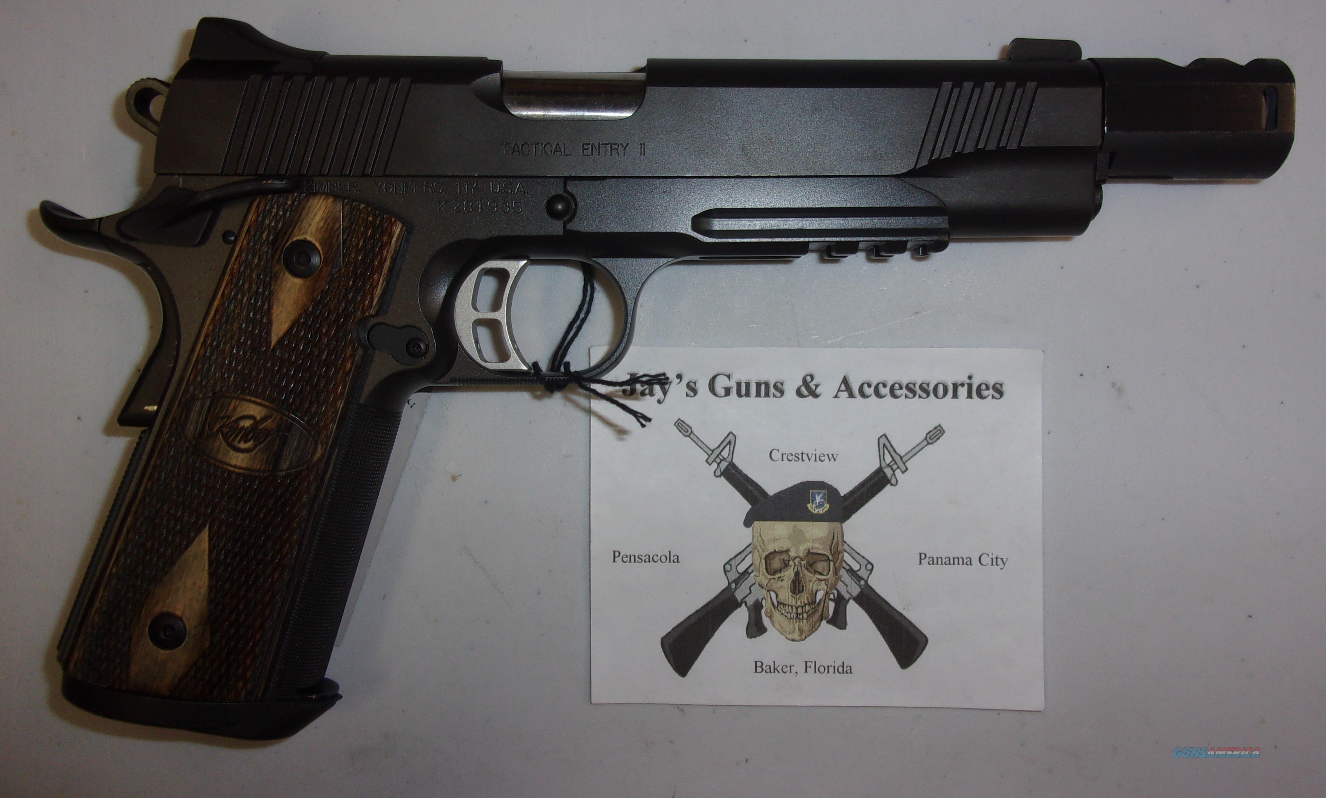 Kimber Tactical Entry II in .460 Rowland  Guns > Pistols > Kimber of America Pistols > 1911