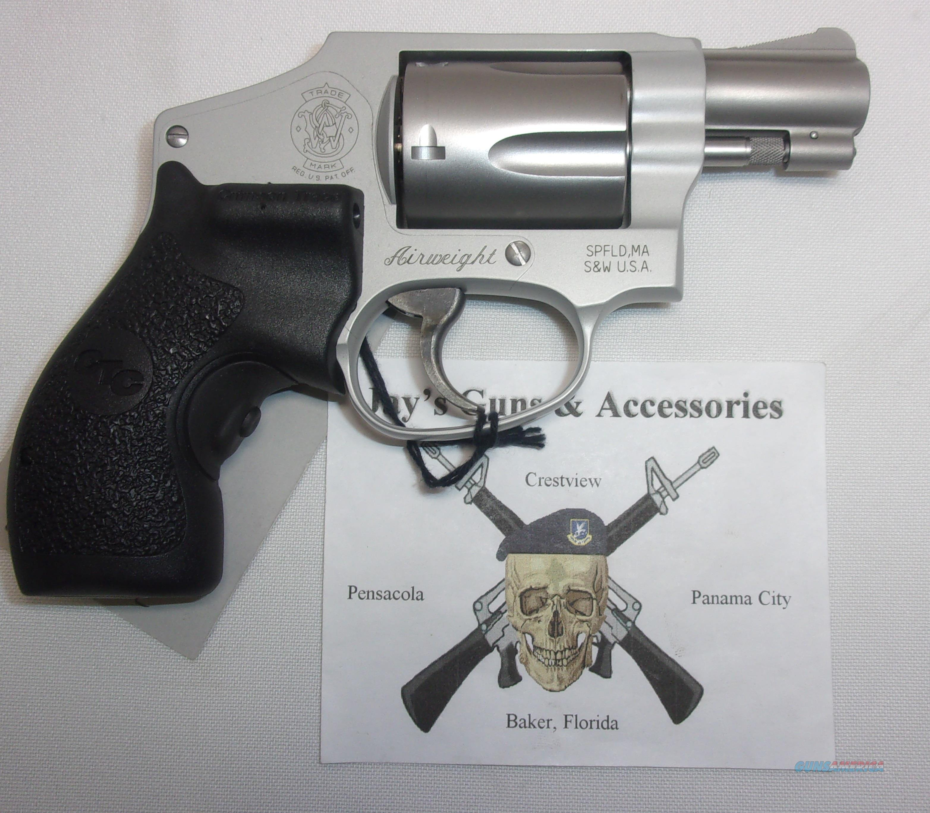 Smith & Wesson 642-2 (163811) w/Crimson Trace Laser Grips  Guns > Pistols > Smith & Wesson Revolvers > Performance Center