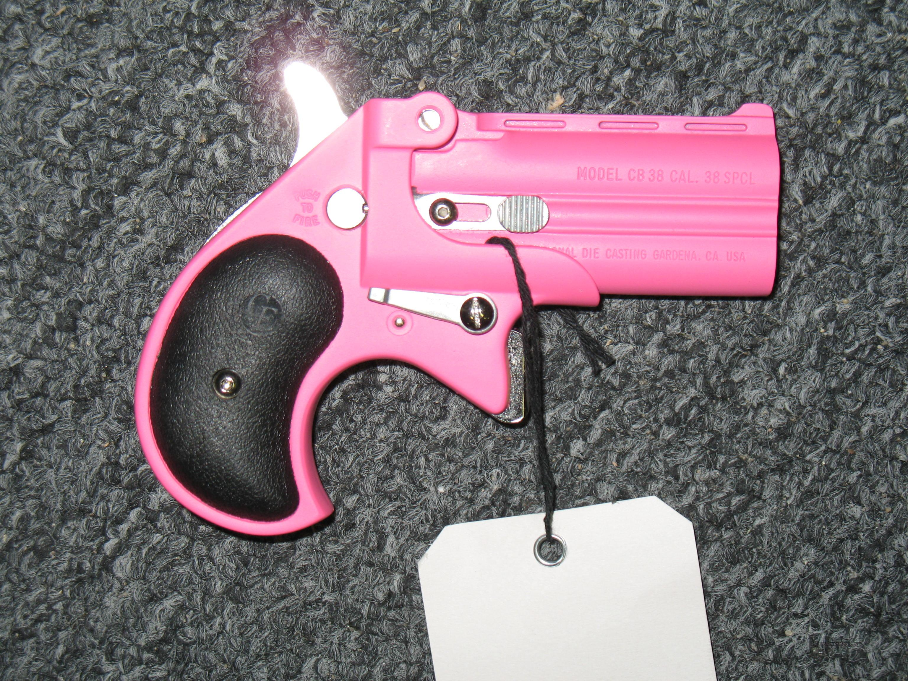 CB38 w/Pink Finish  Guns > Pistols > Cobra Derringers