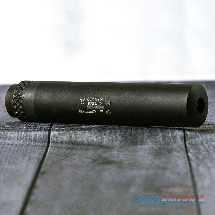 Gemtech Blackside (12323)  Guns > Pistols > Class 3 Pistols > Class 3 Suppressors