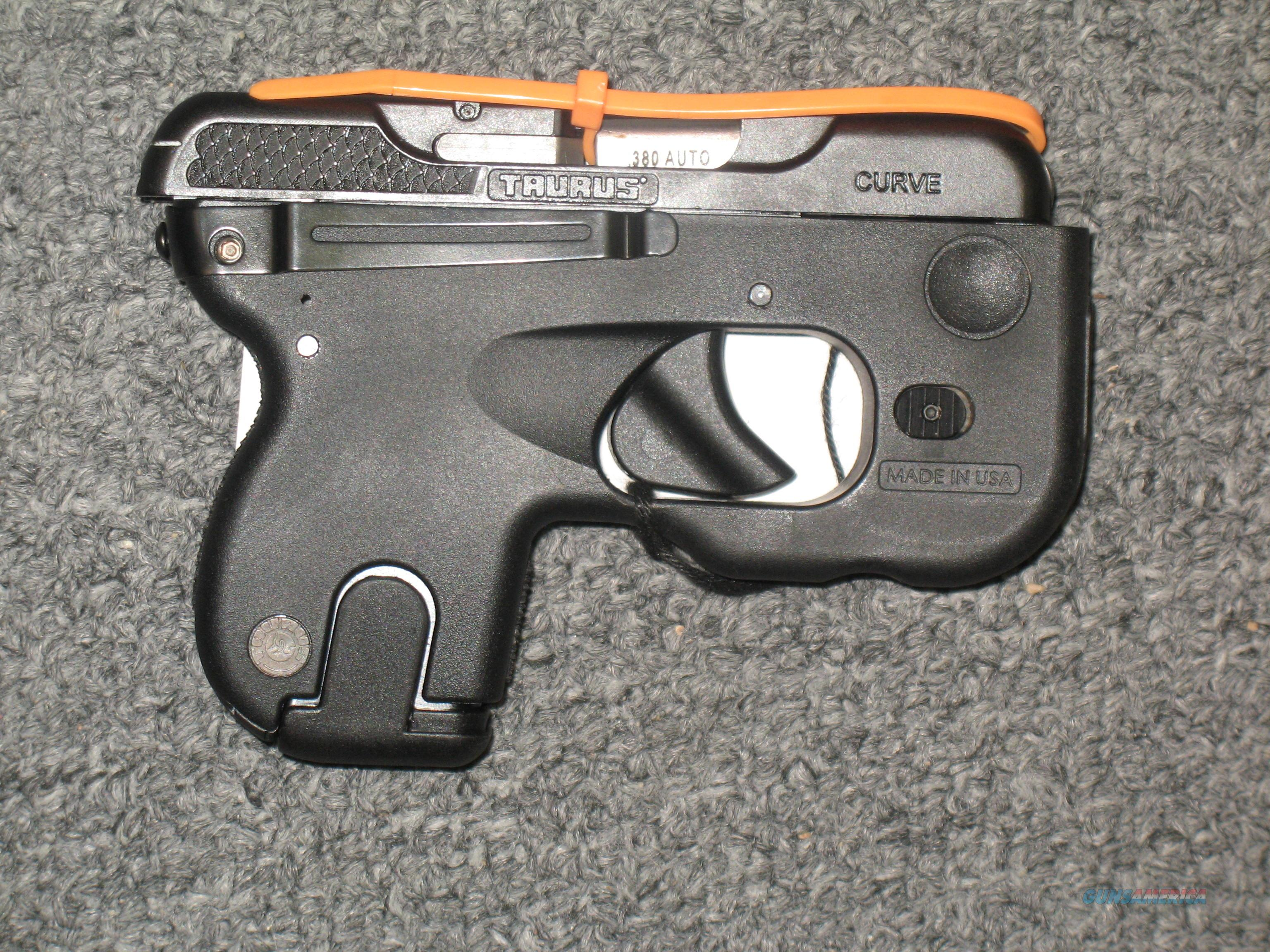 Taurus Curve .380acp (with Laser and Flashlight)  Guns > Pistols > Taurus Pistols > Semi Auto Pistols > Polymer Frame