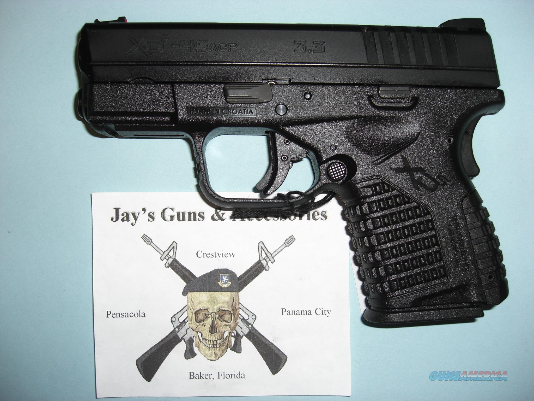 Springfield Armory XDS-45 w/2 Mags  Guns > Pistols > Springfield Armory Pistols > XD-S