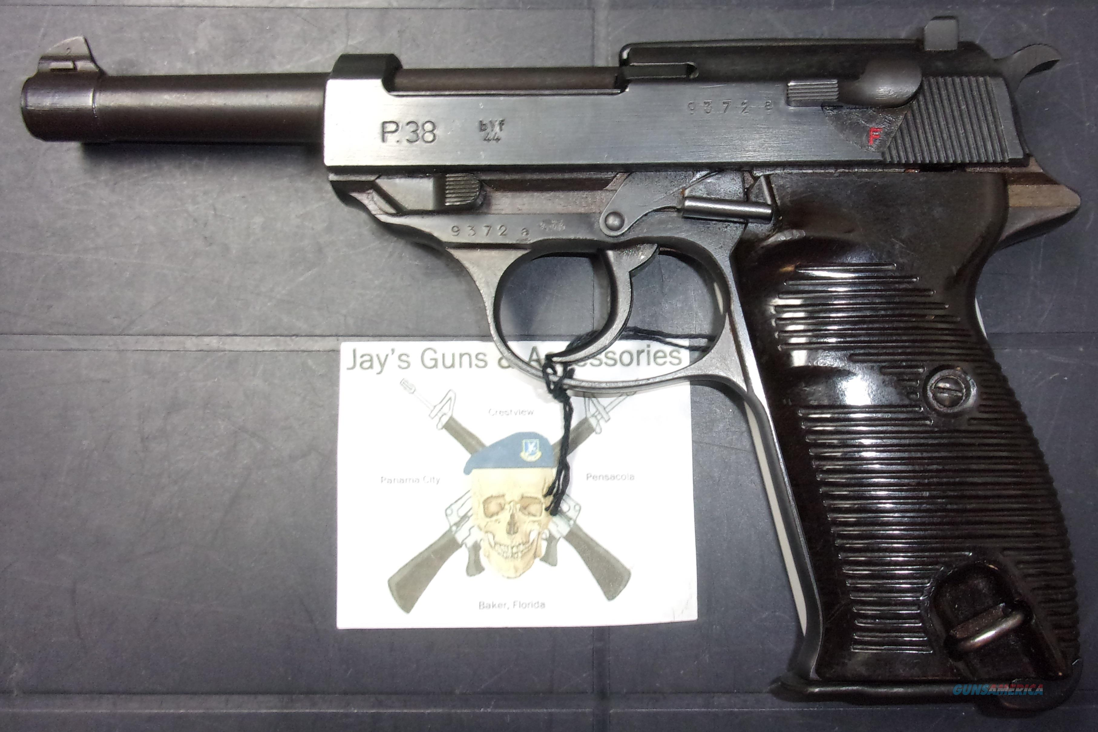 Mauser P-38  Guns > Pistols > Walther Pistols > Pre-1945 > P-38