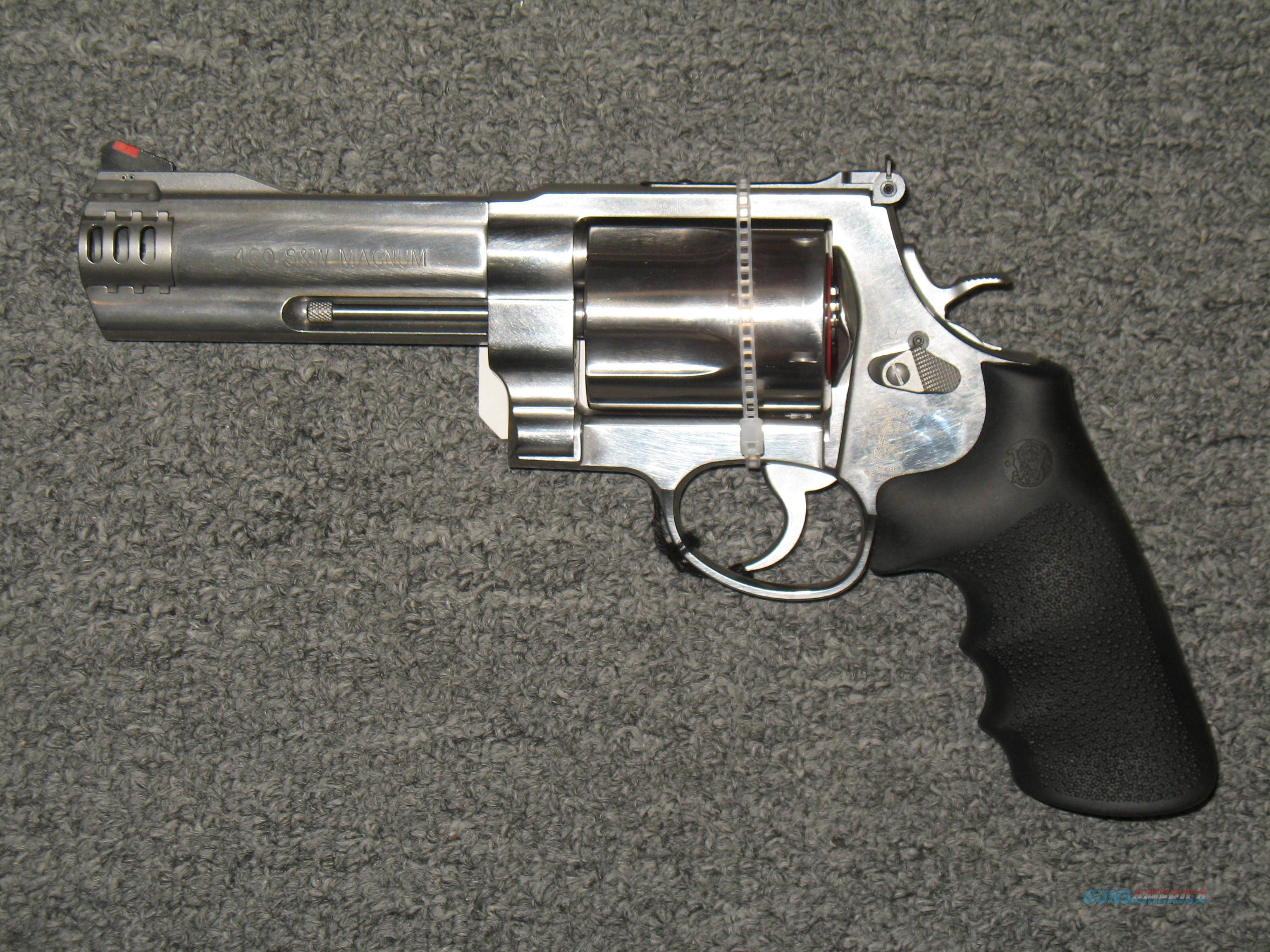 Smith & Wesson 460V (163465)  Guns > Pistols > Smith & Wesson Revolvers > Full Frame Revolver