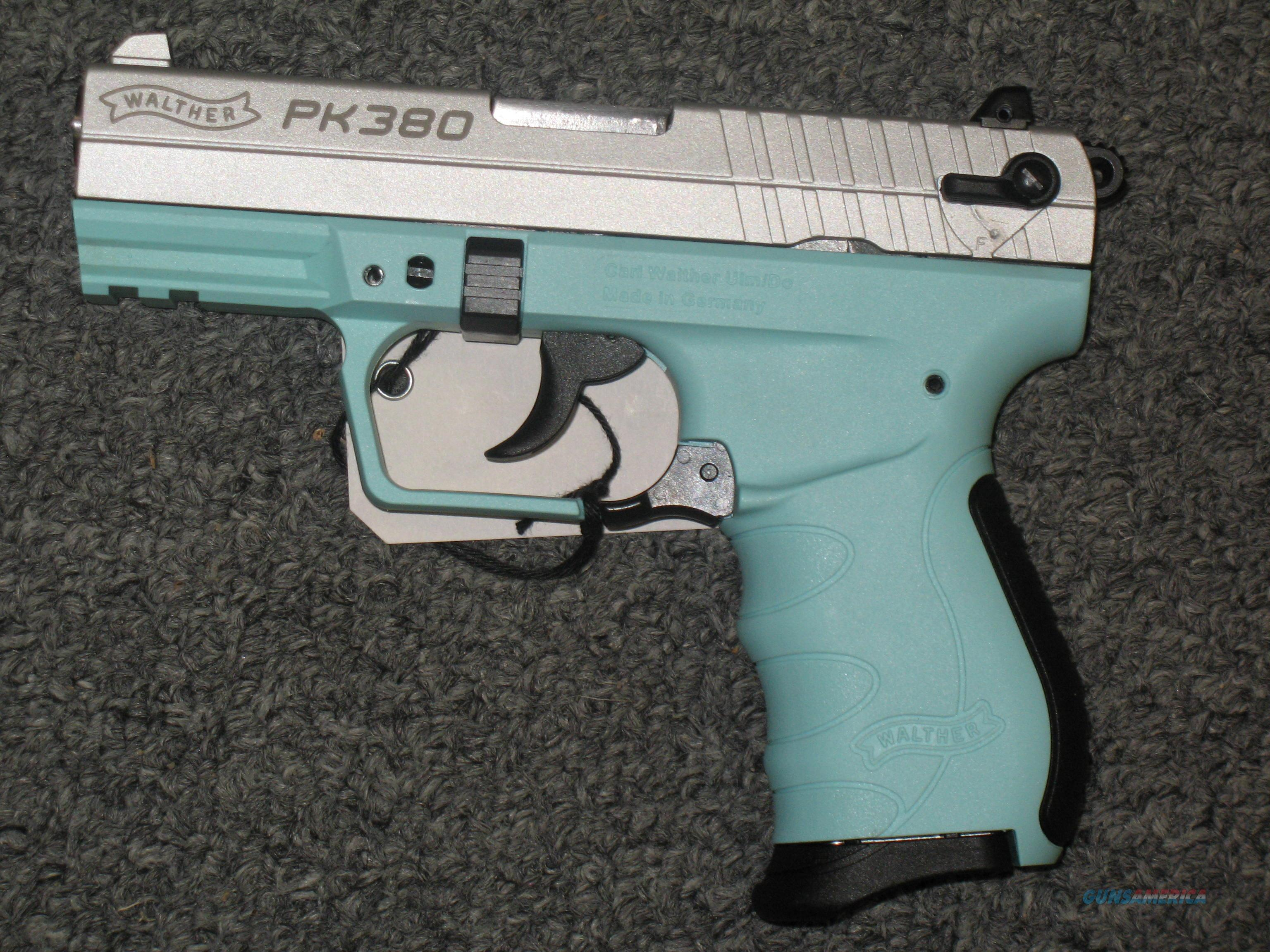 Walther PK380 (Angel Blue)  Guns > Pistols > Walther Pistols > Post WWII > PK380