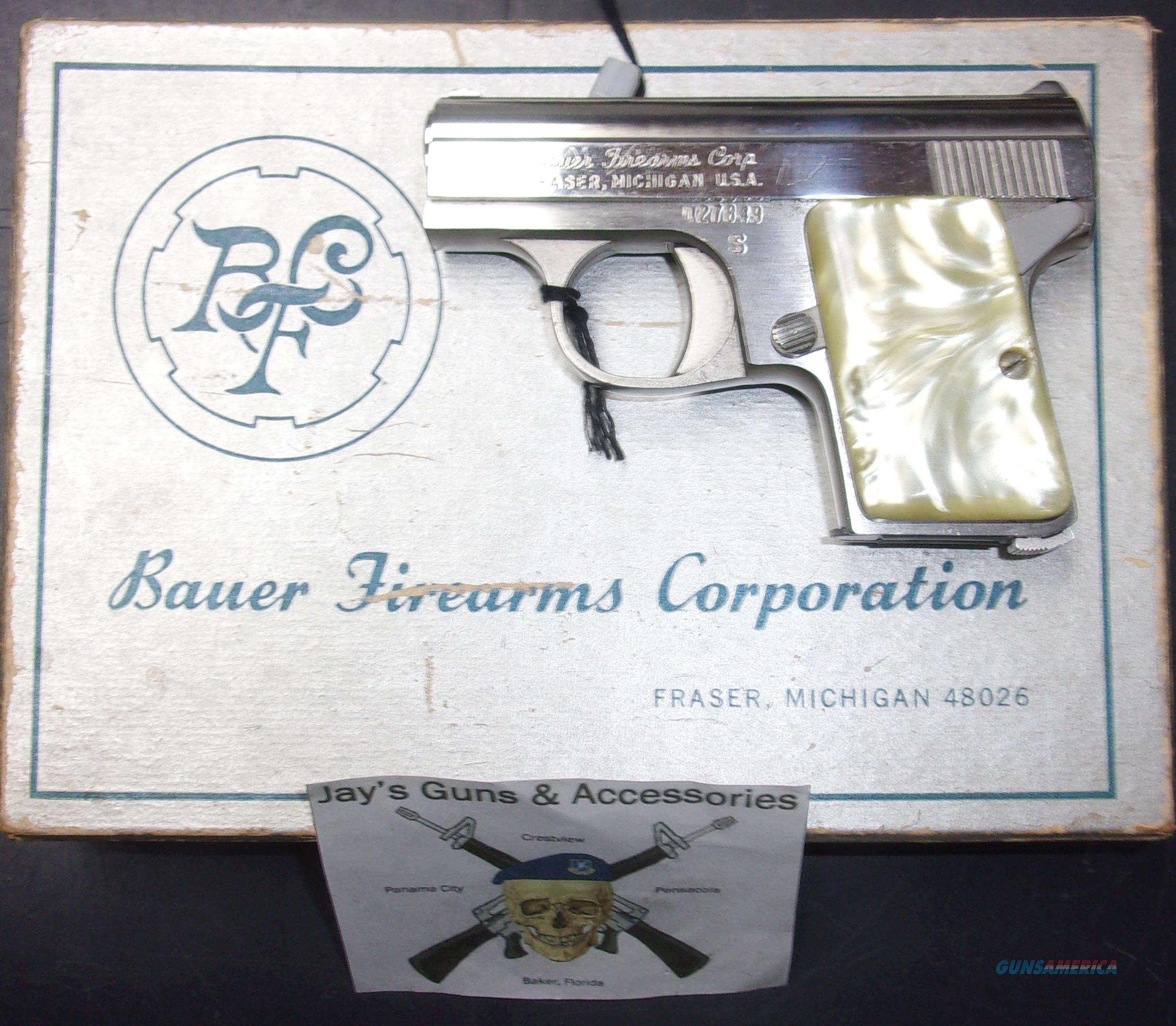 Bauer Firearms Corp. Bauer Automatic  Guns > Pistols > Bauer Pistols