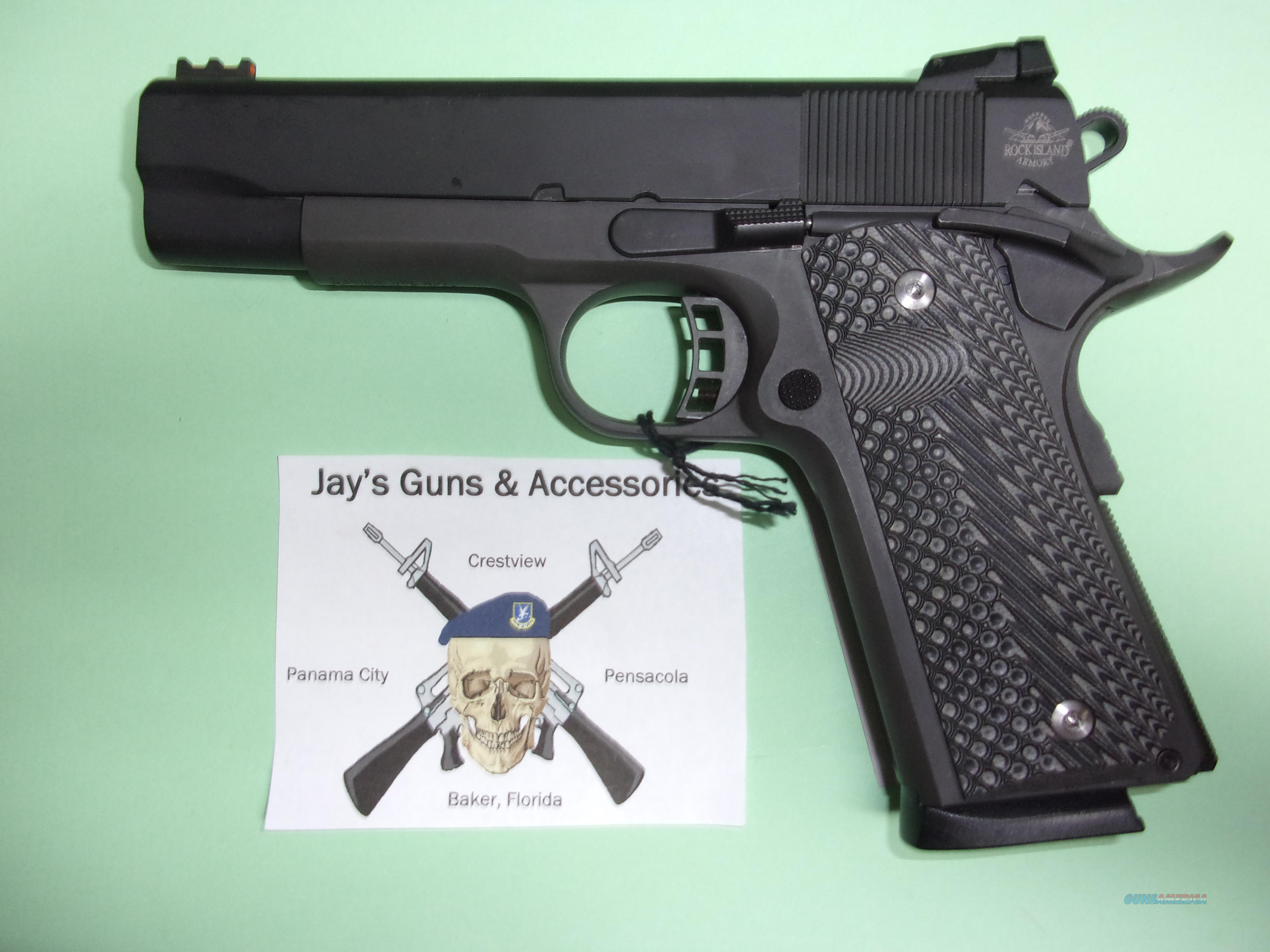 Rock Island Armory M1911 A1 MS Tactical II  Guns > Pistols > Rock River Arms Pistols
