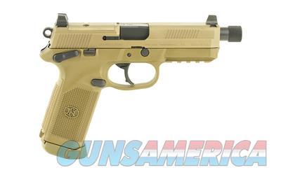 FN FNX-45 Tactical (66968) w/FDE Finish  Guns > Pistols > FNH - Fabrique Nationale (FN) Pistols > FNX