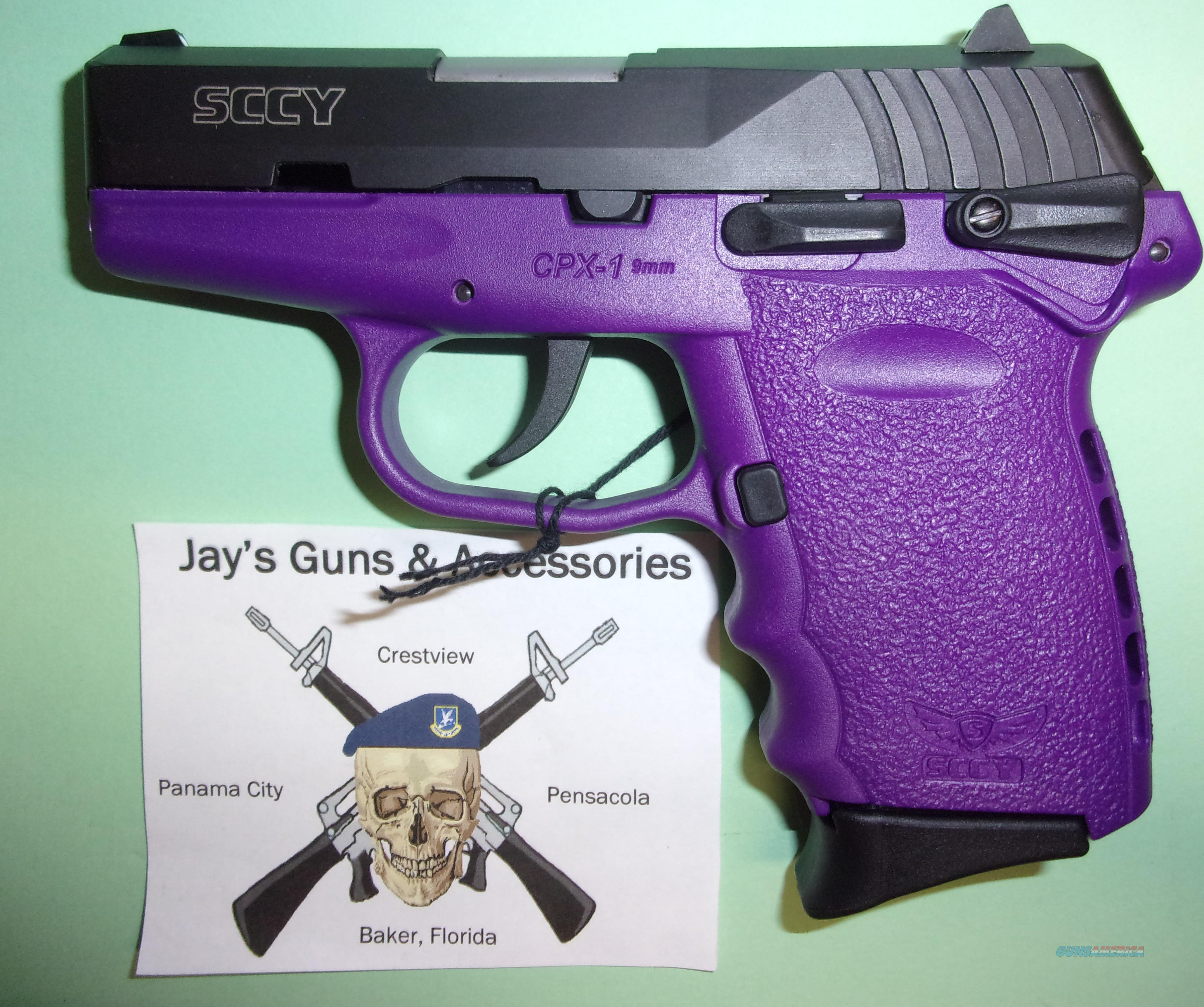 SCCY CPX-1 w/Purple Frame  Guns > Pistols > SCCY Pistols > CPX1