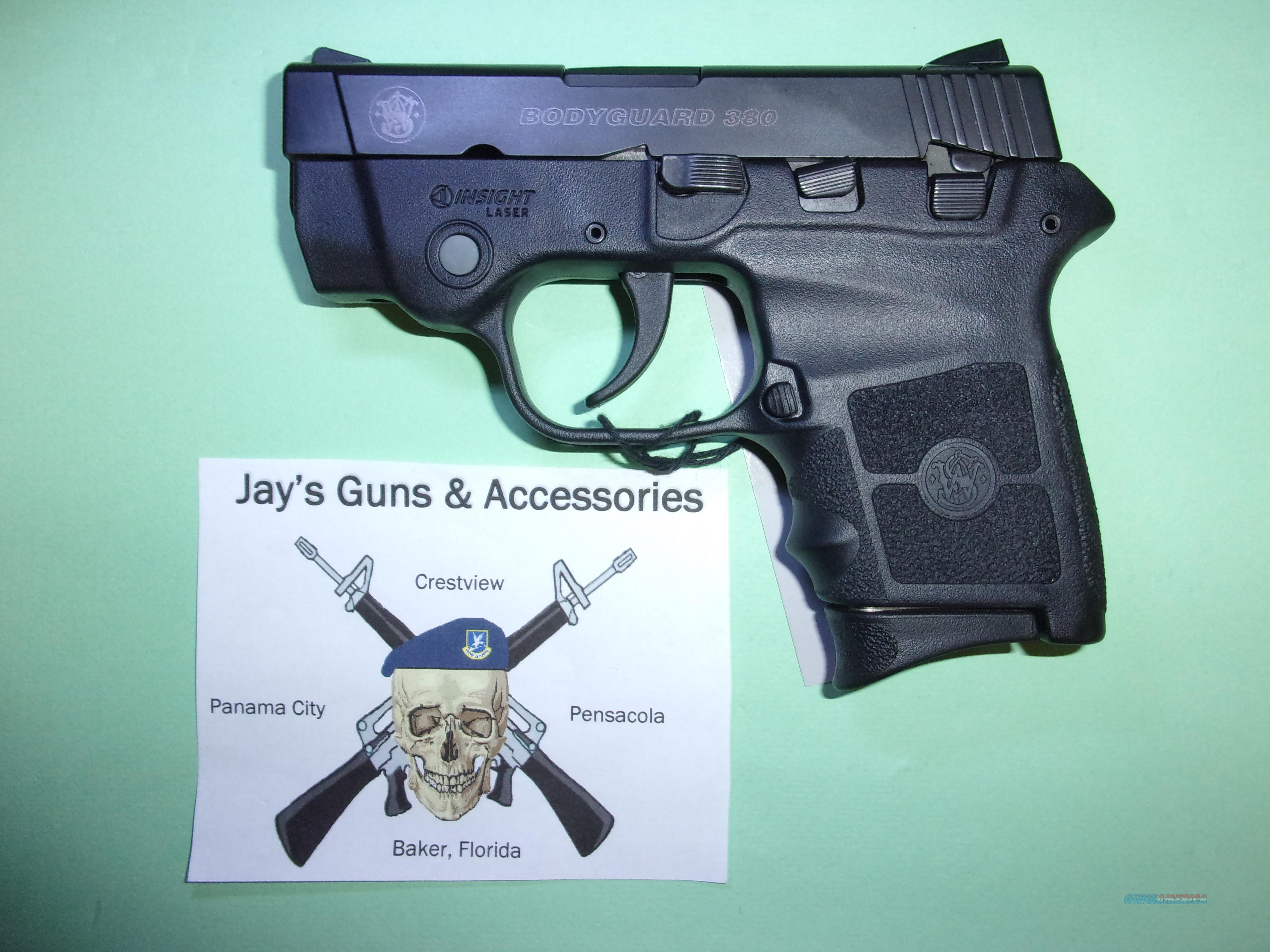 Smith & Wesson Bodyguard 380 w/Laser  Guns > Pistols > Smith & Wesson Pistols - Autos > Polymer Frame