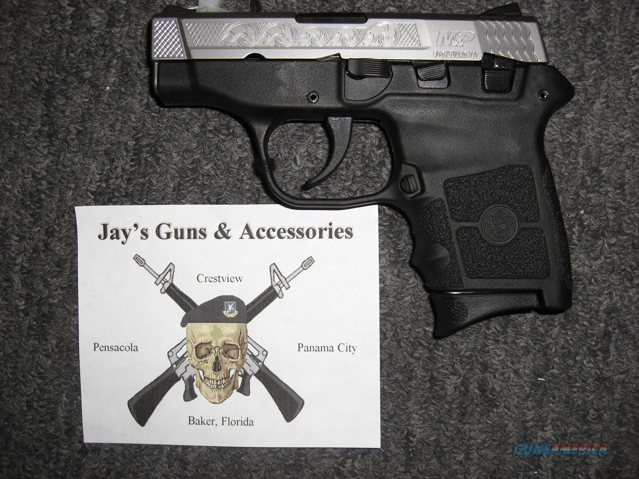 Smith & Wesson M&P Bodyguard 380 (10110) w/Engraved Slide  Guns > Pistols > Smith & Wesson Pistols - Autos > Polymer Frame