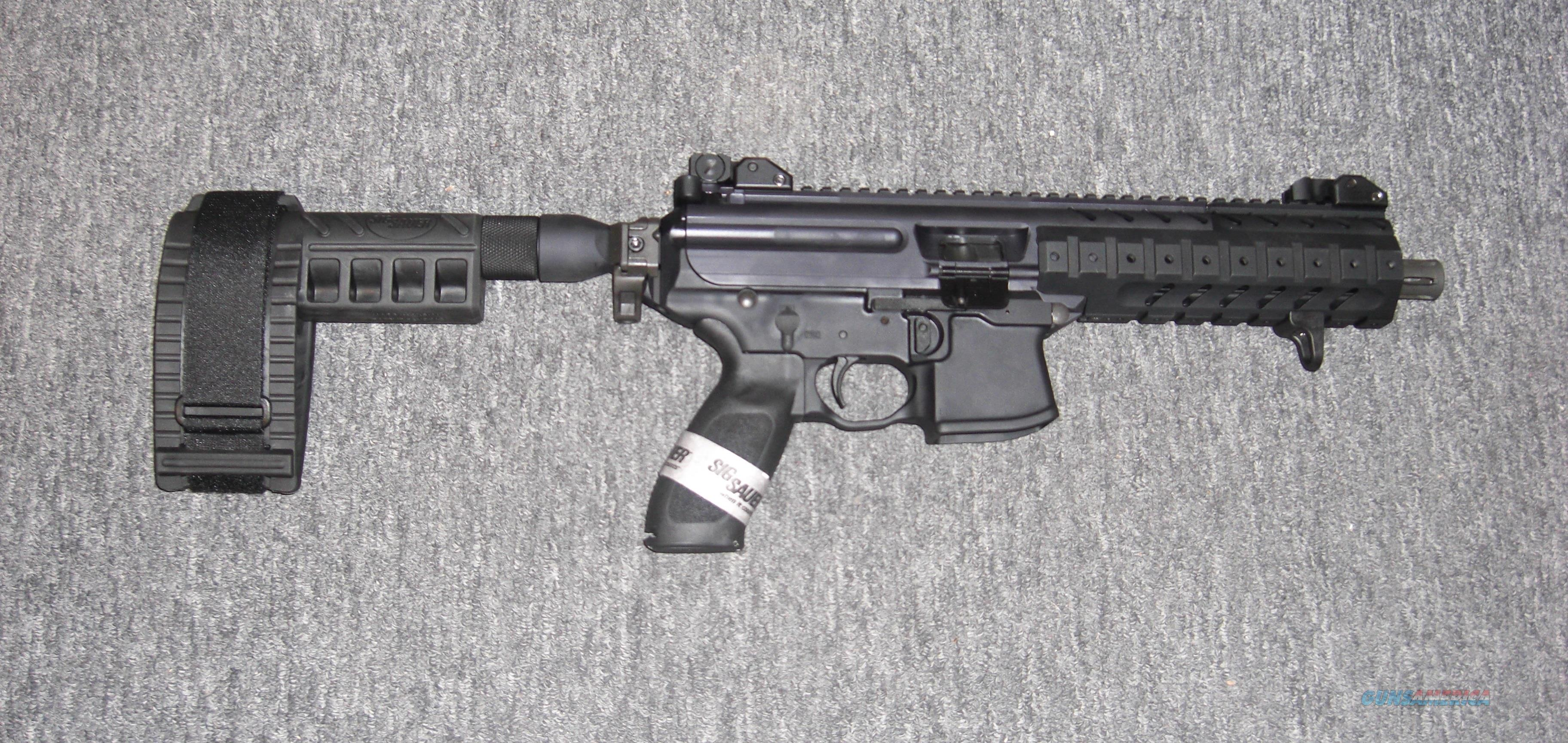 A1 Auto Sales >> Sig Sauer MPX Pistol w/Sig Arm Brace for sale