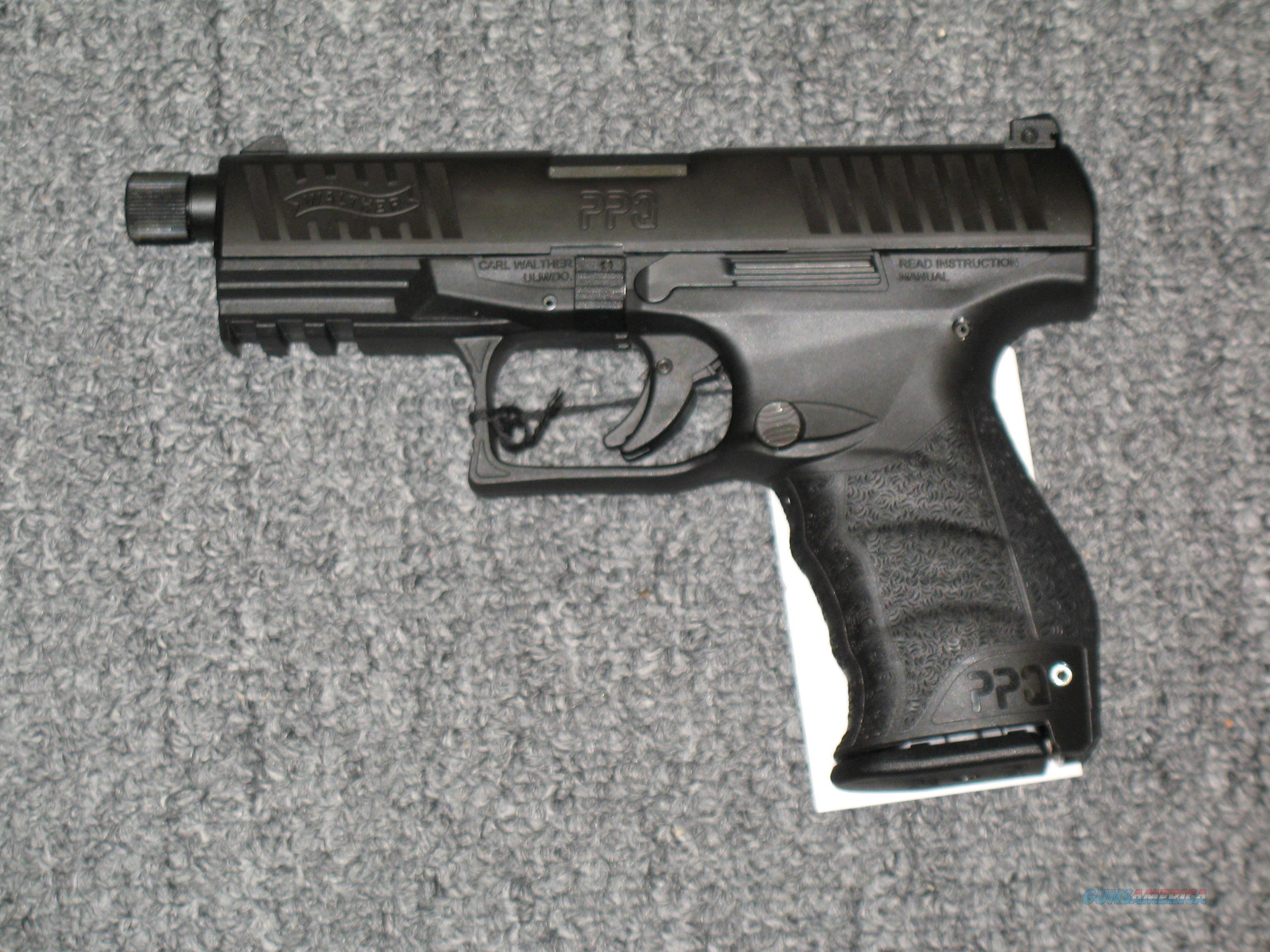 Walther PPQ M2 Navy w/threaded bbl. .9mm  Guns > Pistols > Walther Pistols > Post WWII > P99/PPQ