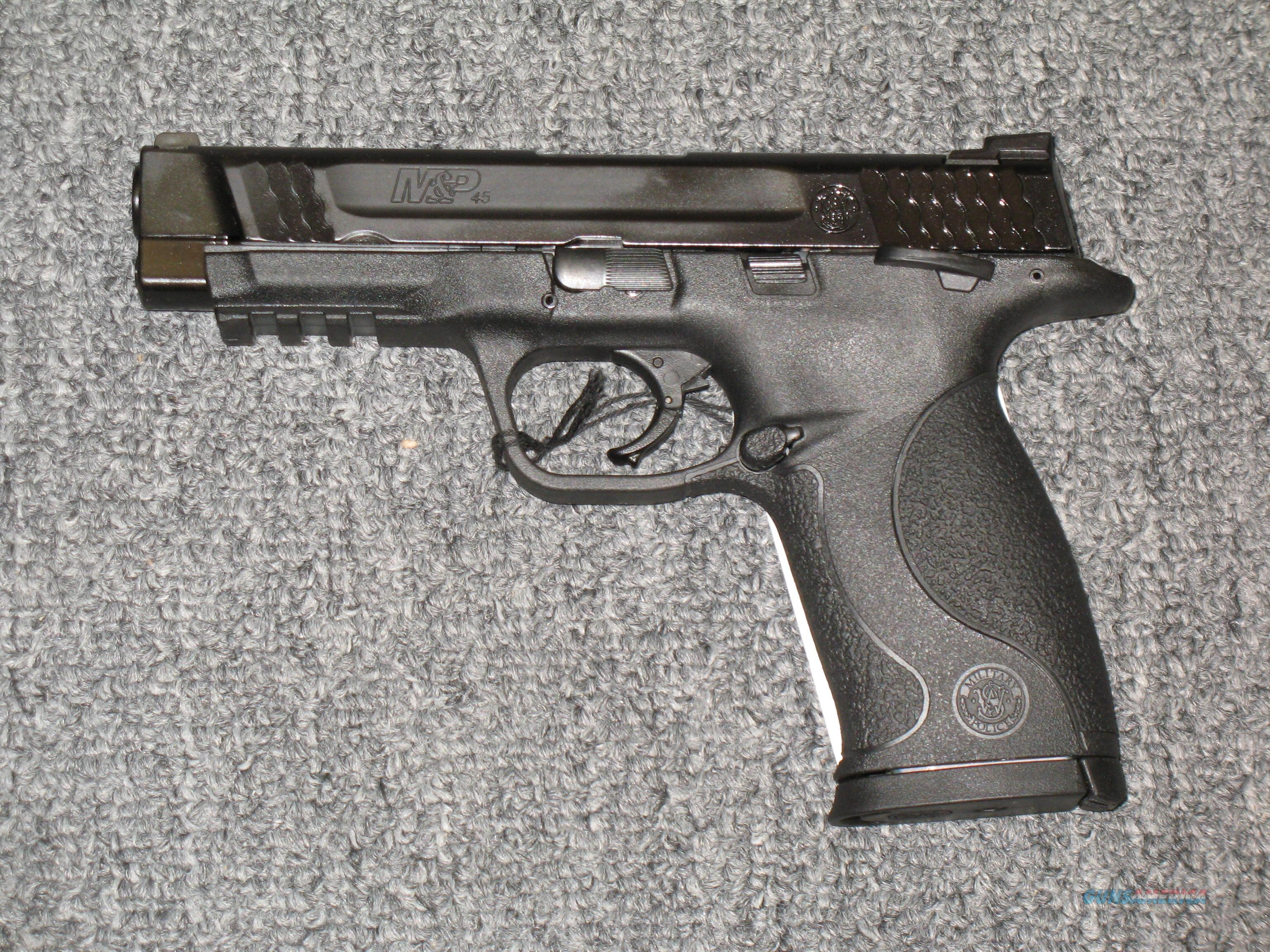 M&P45 w/two 10 rd mags  Guns > Pistols > Smith & Wesson Pistols - Autos > Polymer Frame