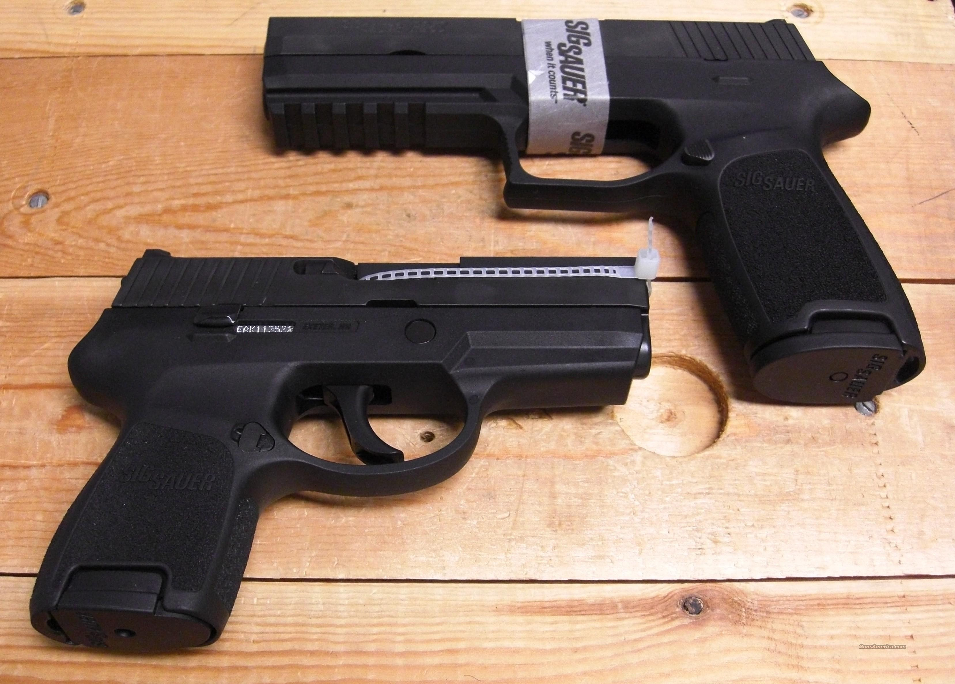 P250F/SC 2 Sum (2 diff. frames)w/2 mags.  Guns > Pistols > Sig - Sauer/Sigarms Pistols > P250