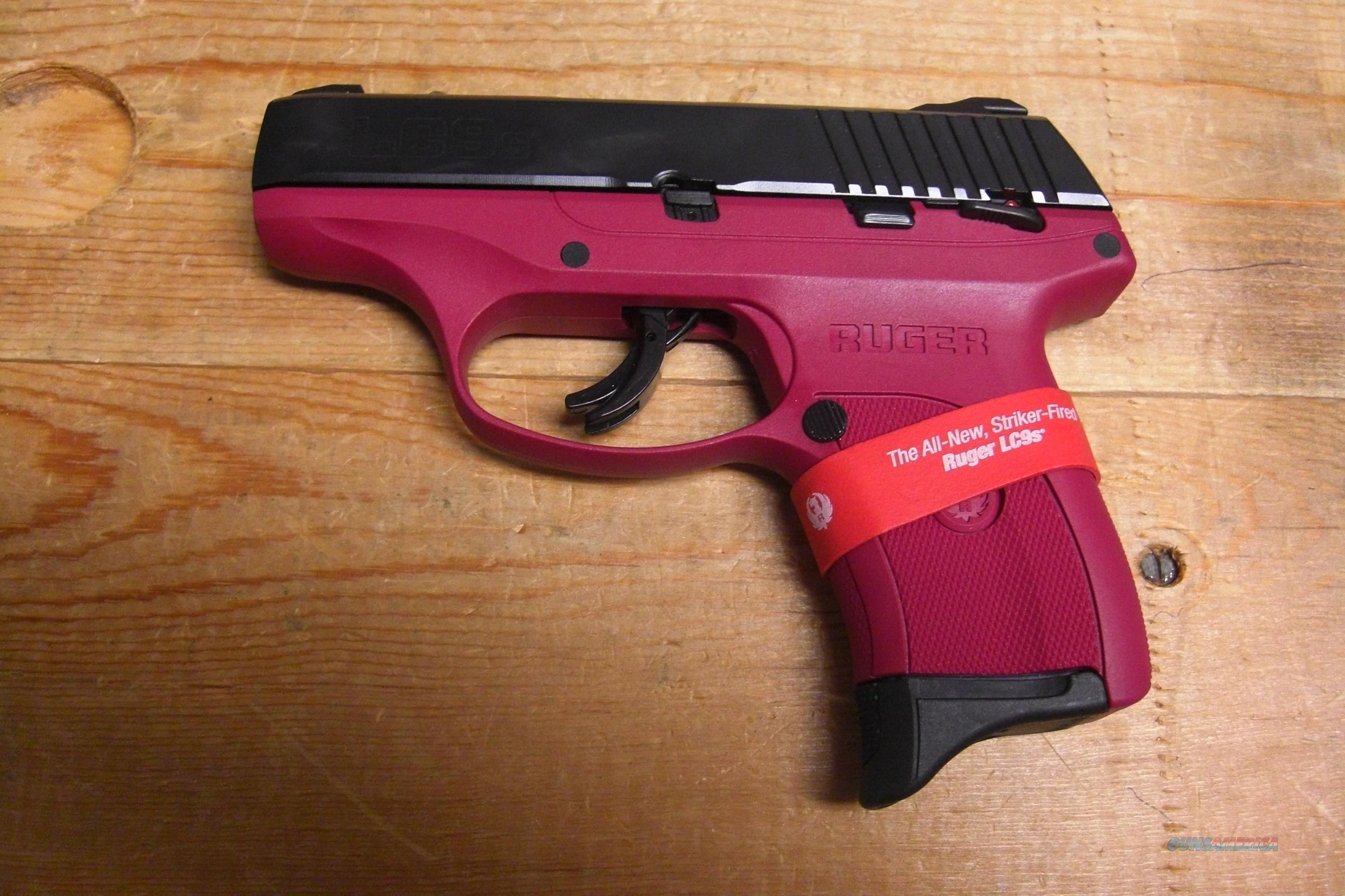 LC9S w/raspberry frame (Striker Fired)  Guns > Pistols > Ruger Semi-Auto Pistols > LCP