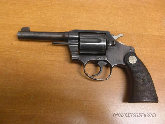 Police Positive Special  1951  Guns > Pistols > Colt Double Action Revolvers- Modern