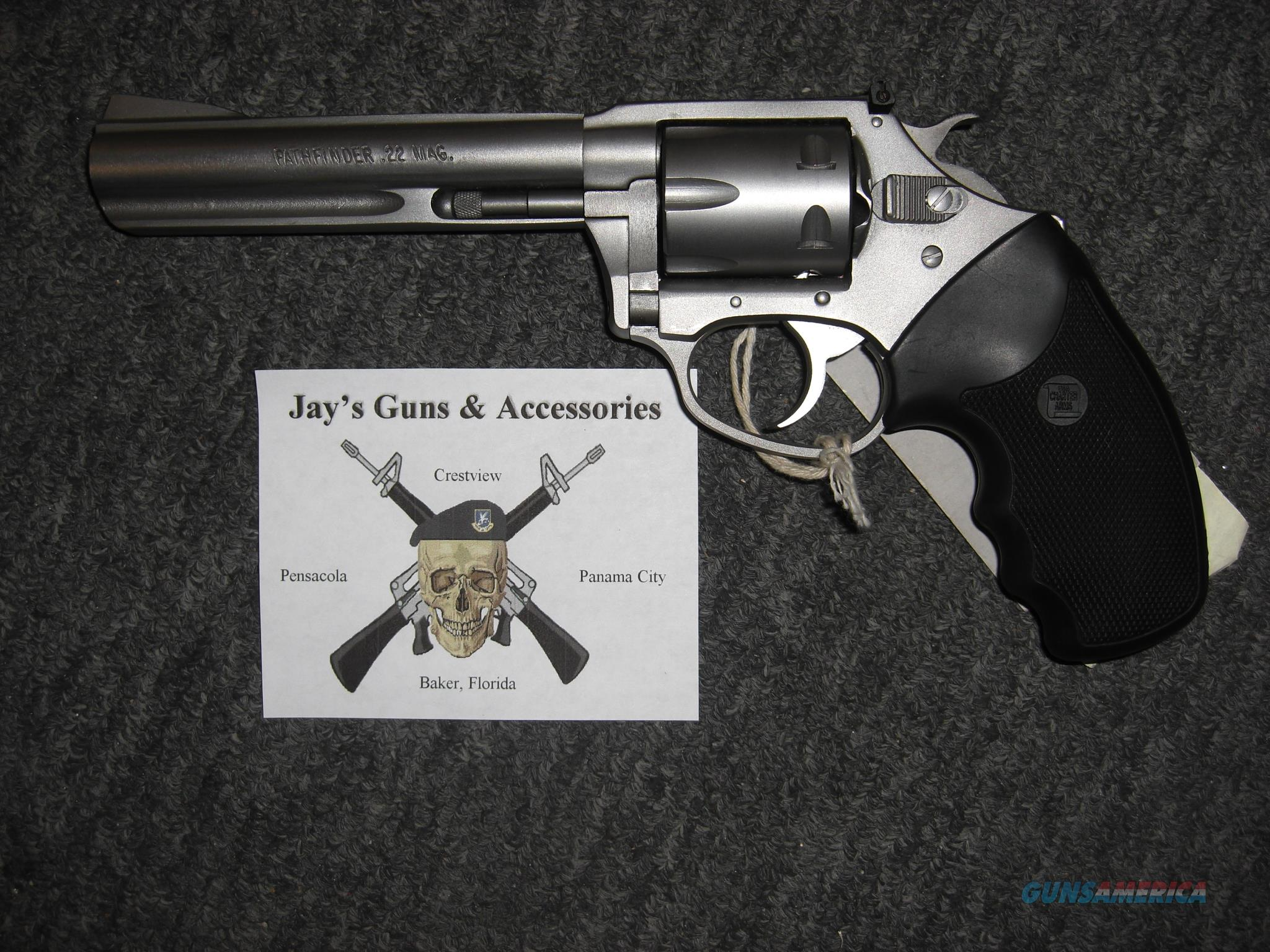 Charter Arms Target Pathfinder in .22 Magnum  Guns > Pistols > Charter Arms Revolvers