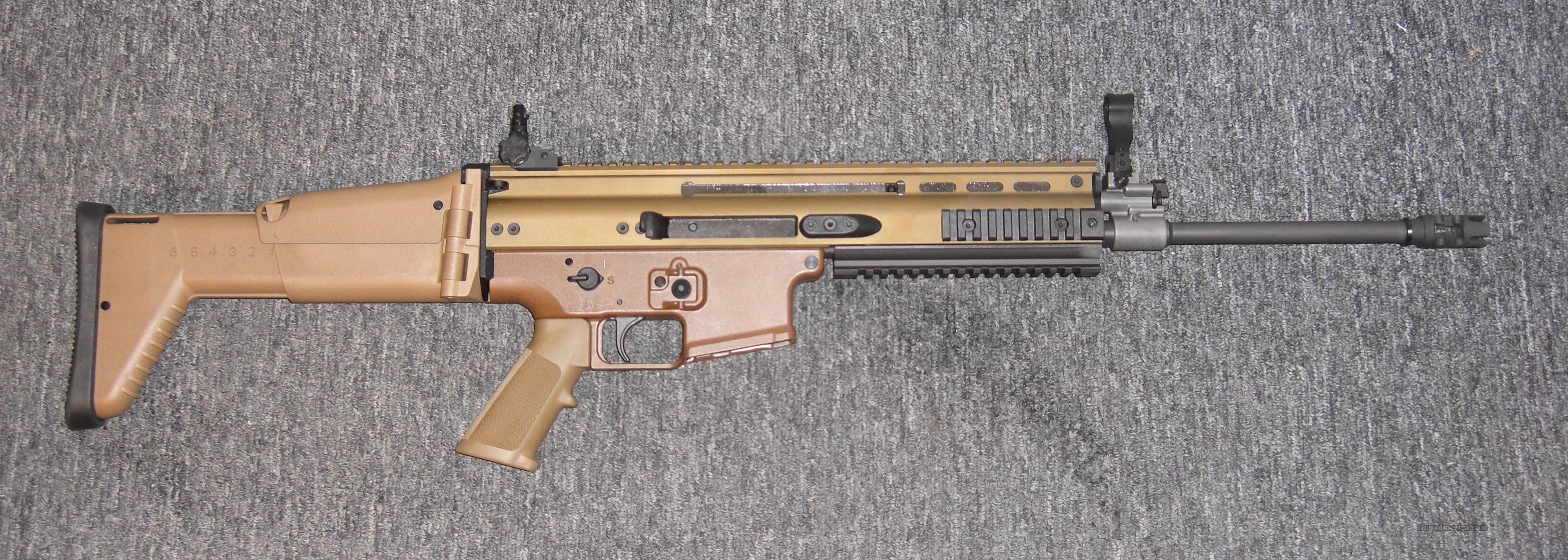 FN SCAR 16S /FDE finish  Guns > Rifles > FNH - Fabrique Nationale (FN) Rifles > Semi-auto > Other