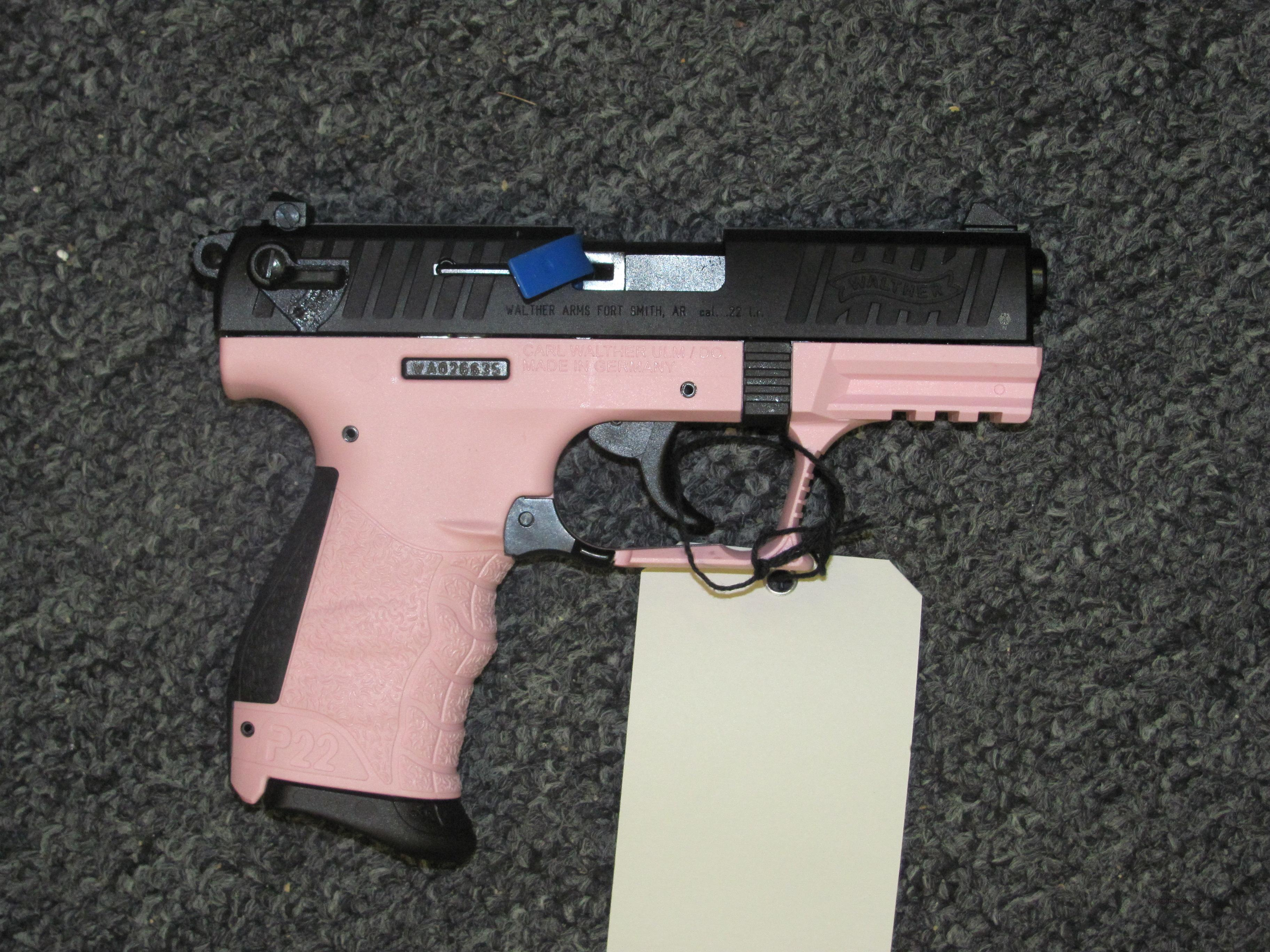 P22 w/Pink Finish  Guns > Pistols > Walther Pistols > Post WWII > P22