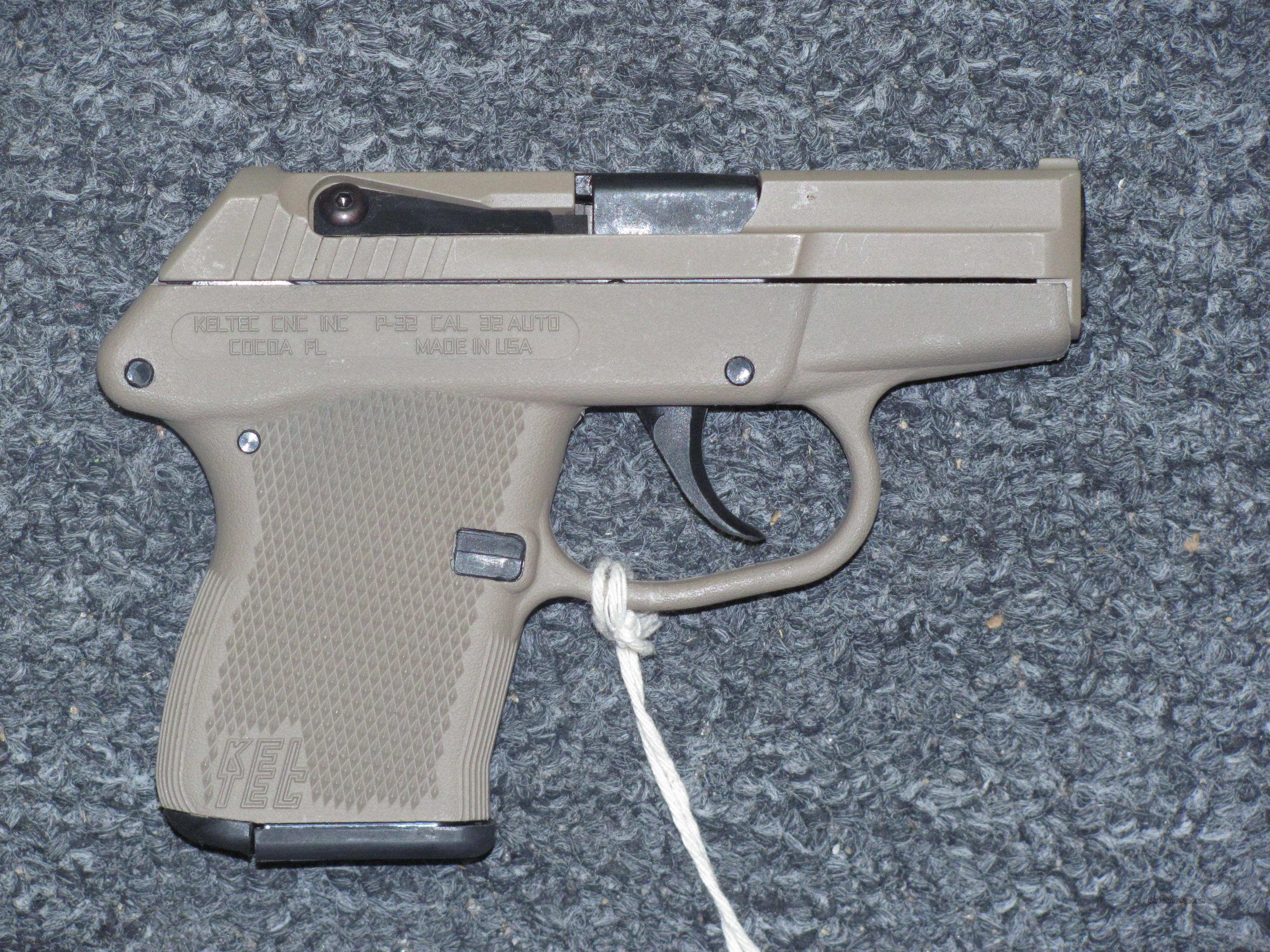 P32 w/Tan Finish  Guns > Pistols > Kel-Tec Pistols > Pocket Pistol Type