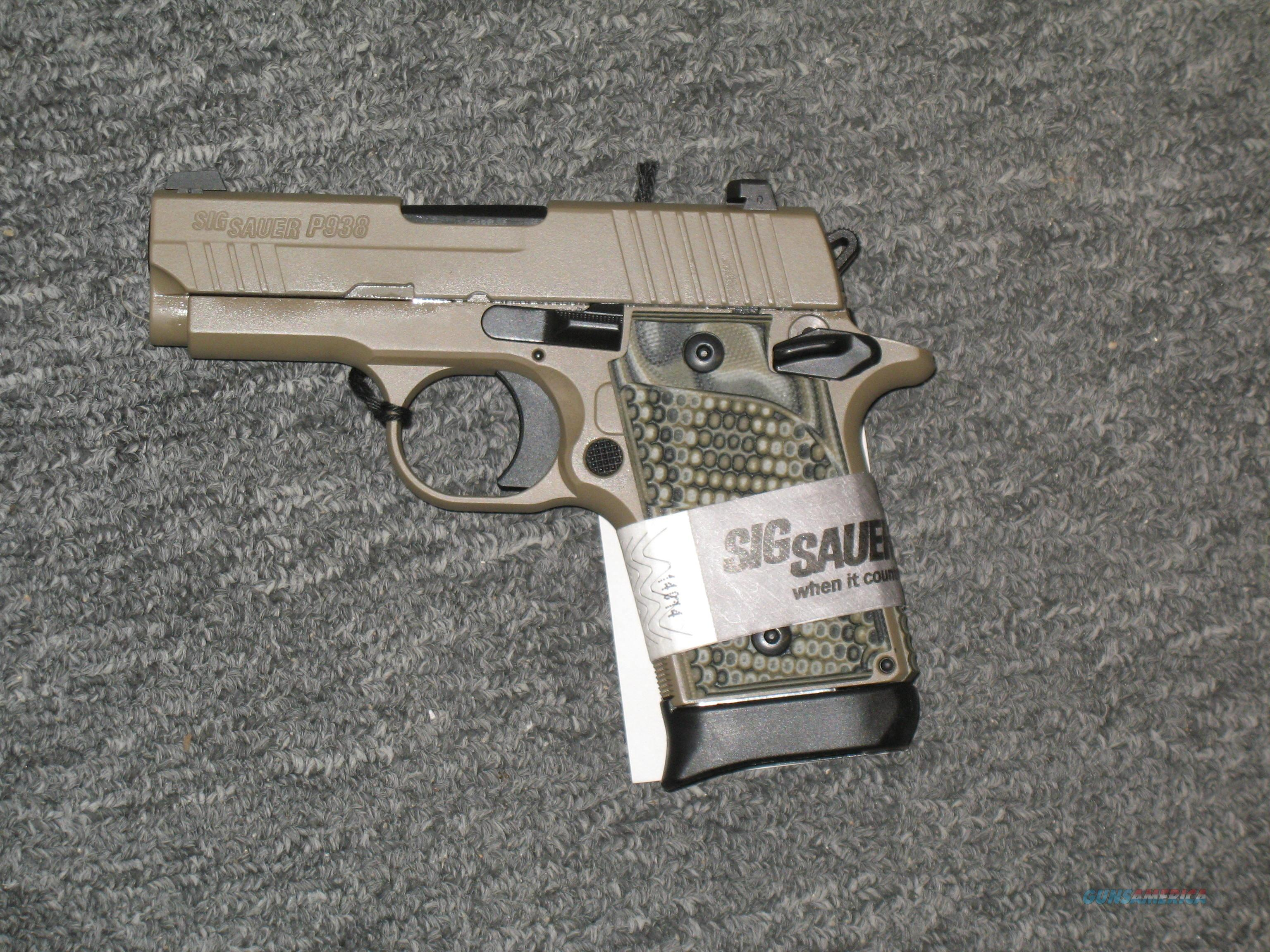 P938 Scorpion w/night sights,   Guns > Pistols > Sig - Sauer/Sigarms Pistols > Other