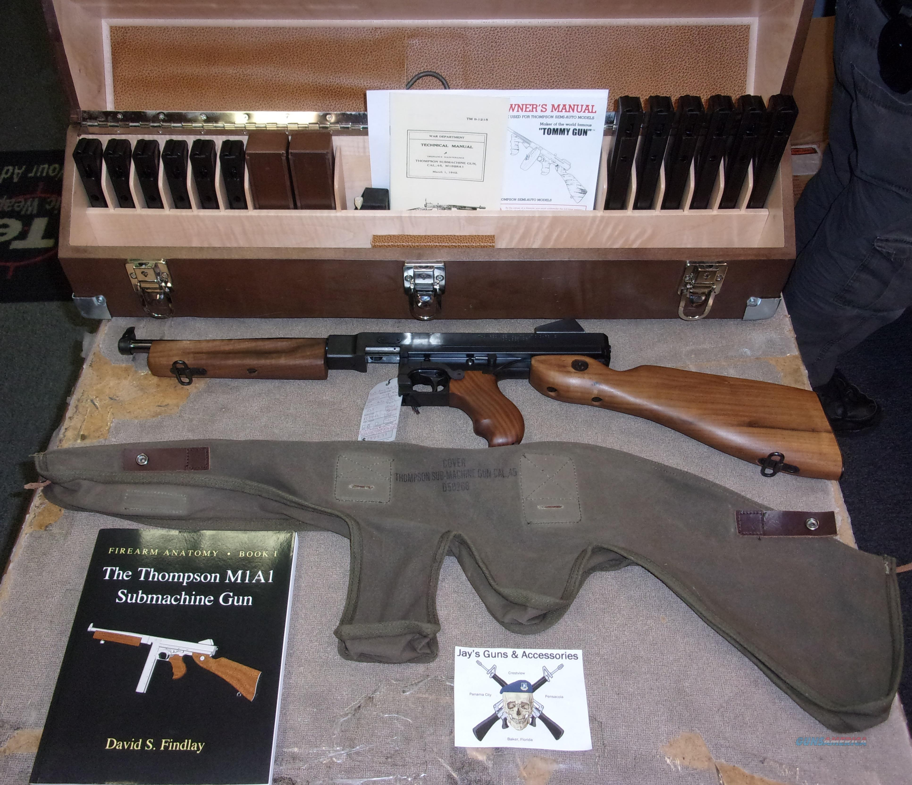 Kahr Arms/Auto Ordnance Thompson M1SB SBR w/Custom Display Case  Guns > Rifles > Class 3 Rifles > Class 3 Subguns