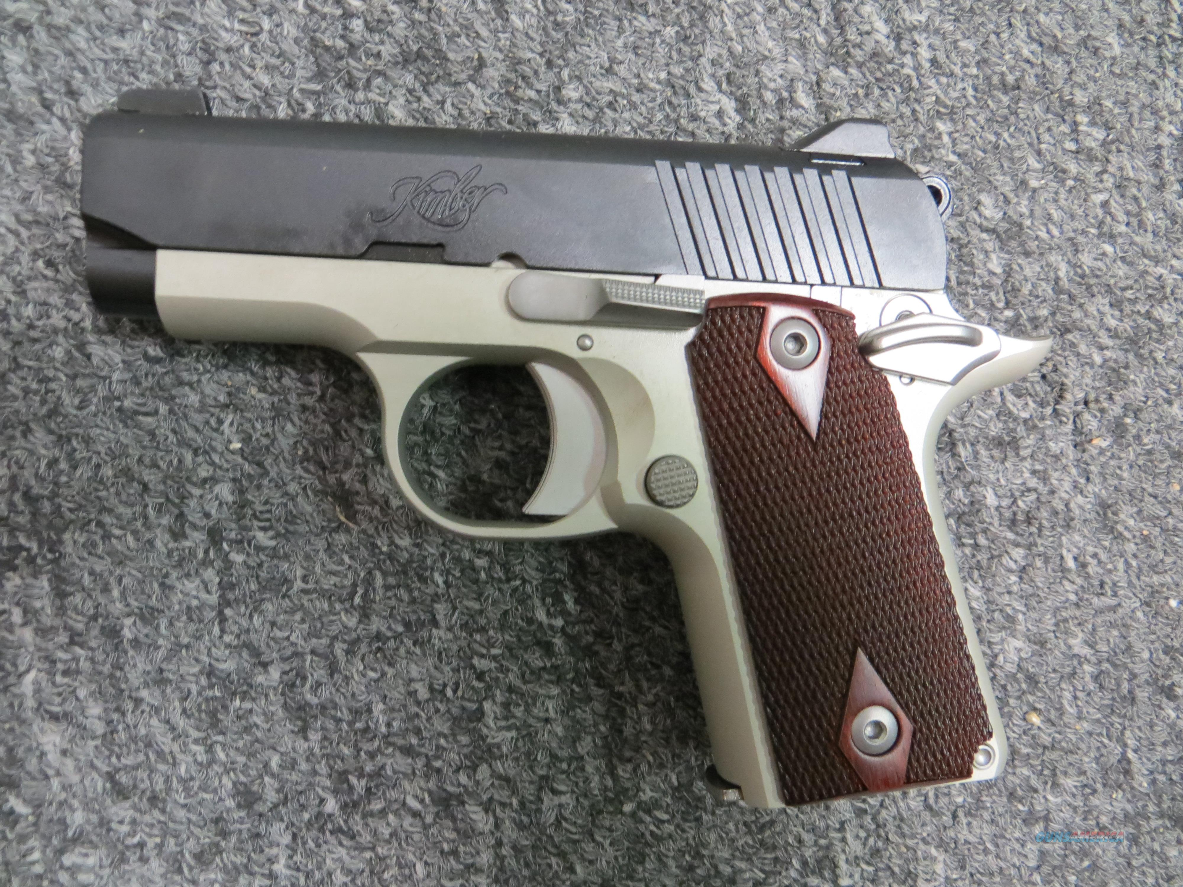 Micro Carry (two-tone, .380 ACP)  Guns > Pistols > Kimber of America Pistols