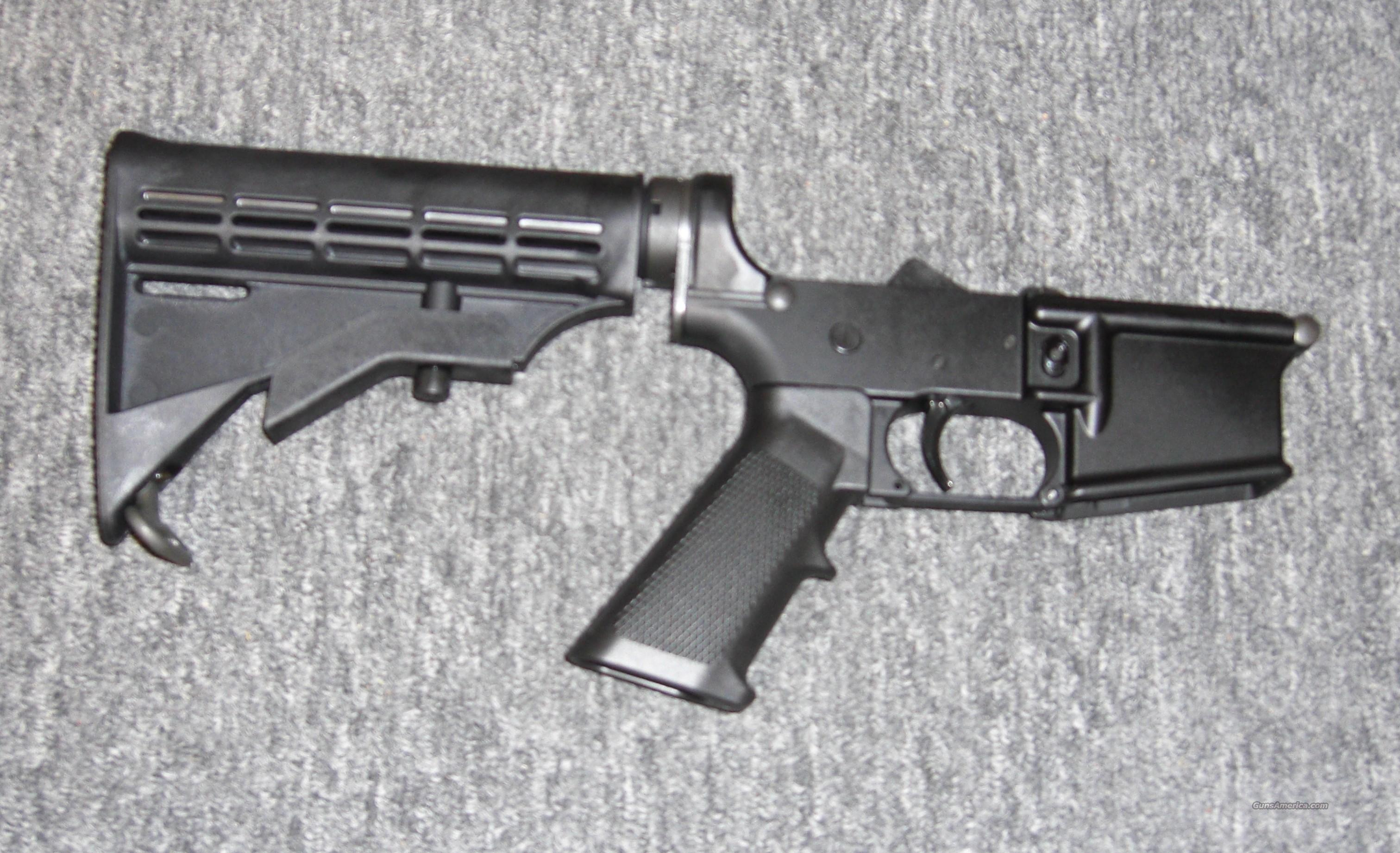 CMMG MK-4 lower w/collapsible stock  Guns > Rifles > AR-15 Rifles - Small Manufacturers > Lower Only