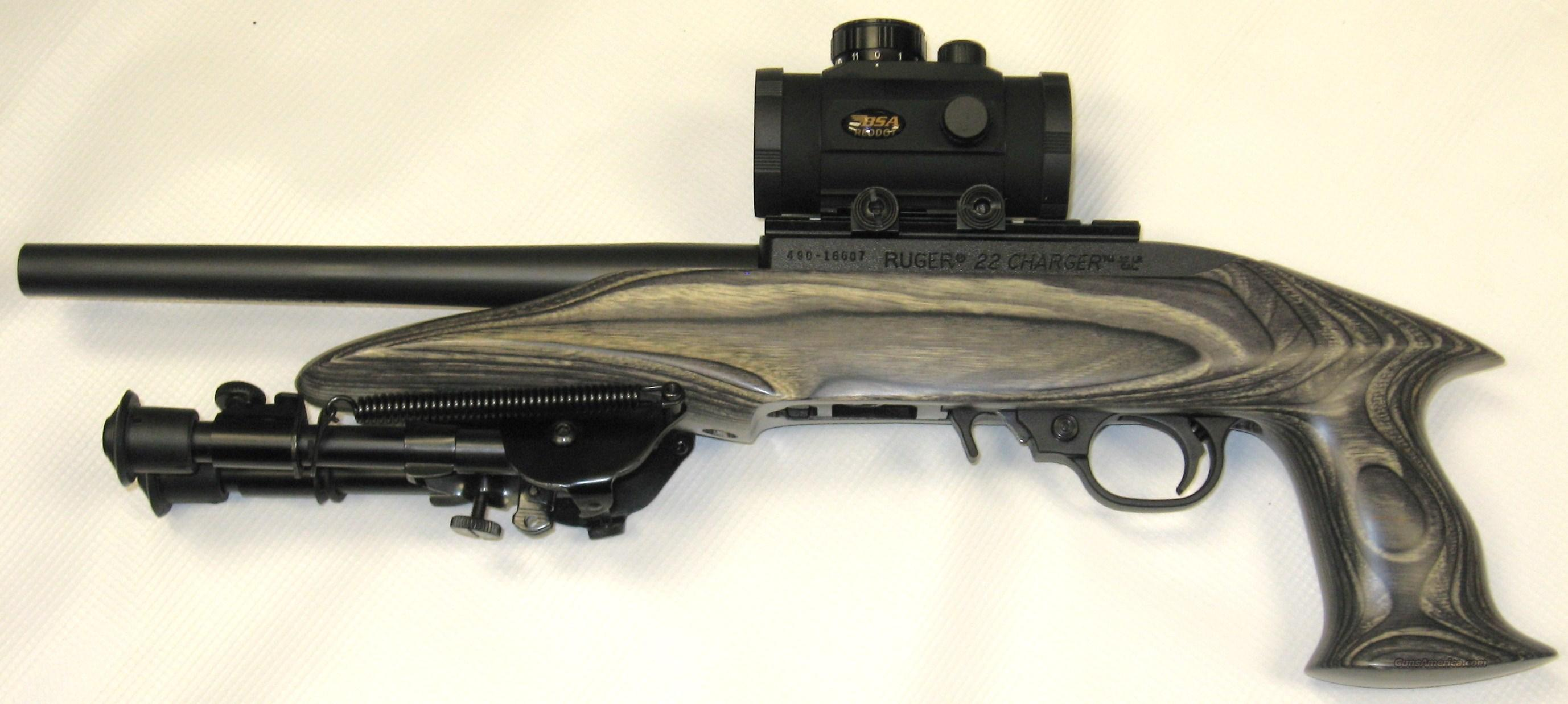 Ruger 22 Charger w/ BSA Red-Dot  Guns > Pistols > Ruger Semi-Auto Pistols > Charger Series